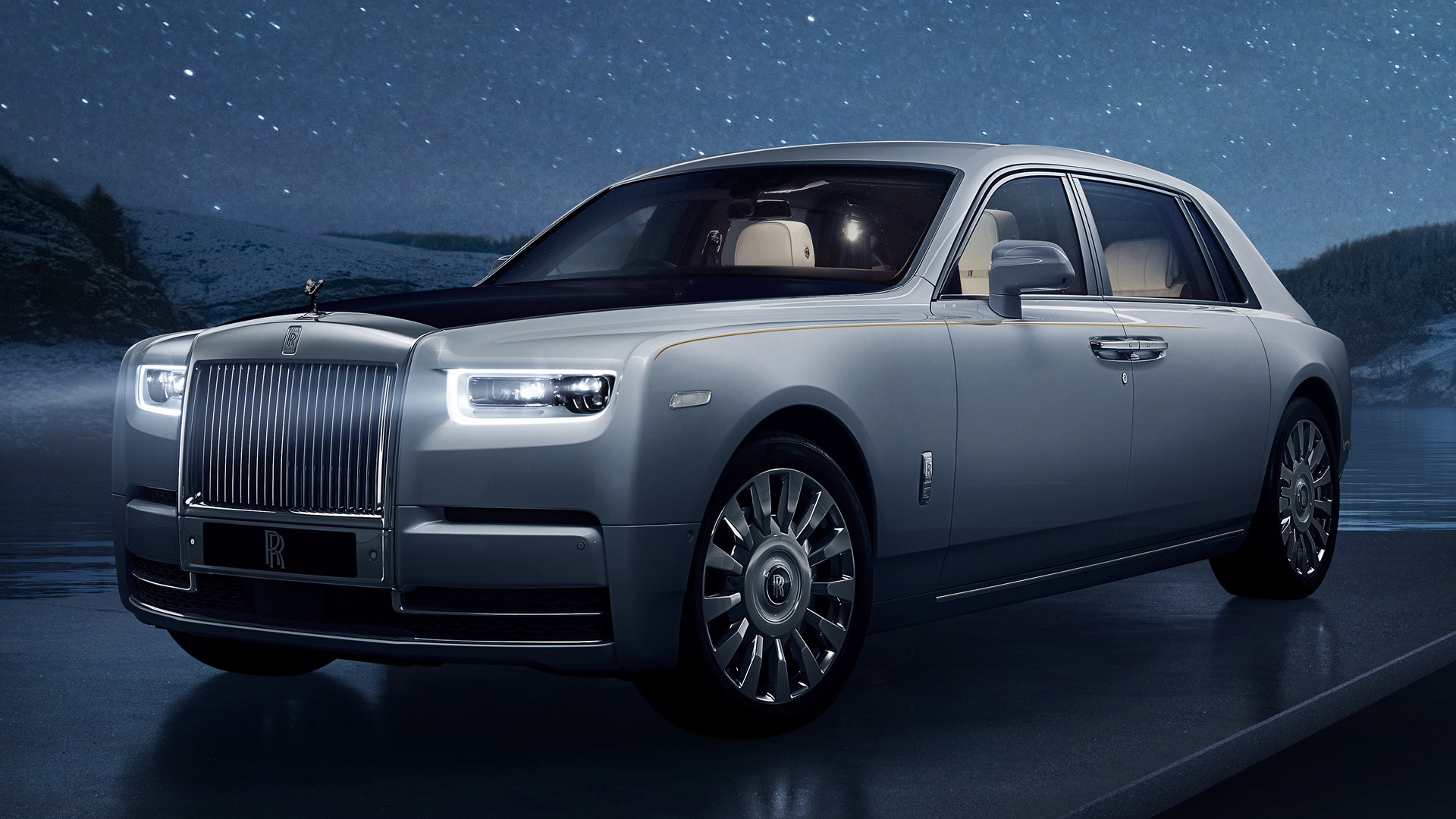 Rolls Royce Phantom Tranquillity Wallpaper Hd