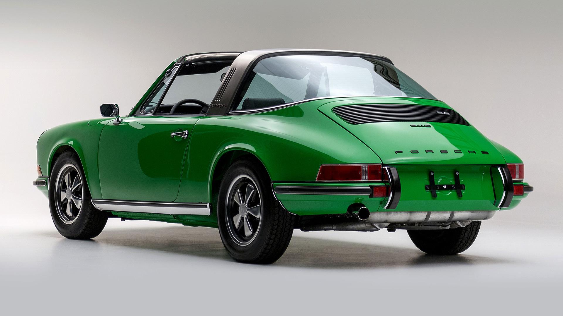 Targa Rwb Walpaper: 1972 Porsche 911 E Targa (US)
