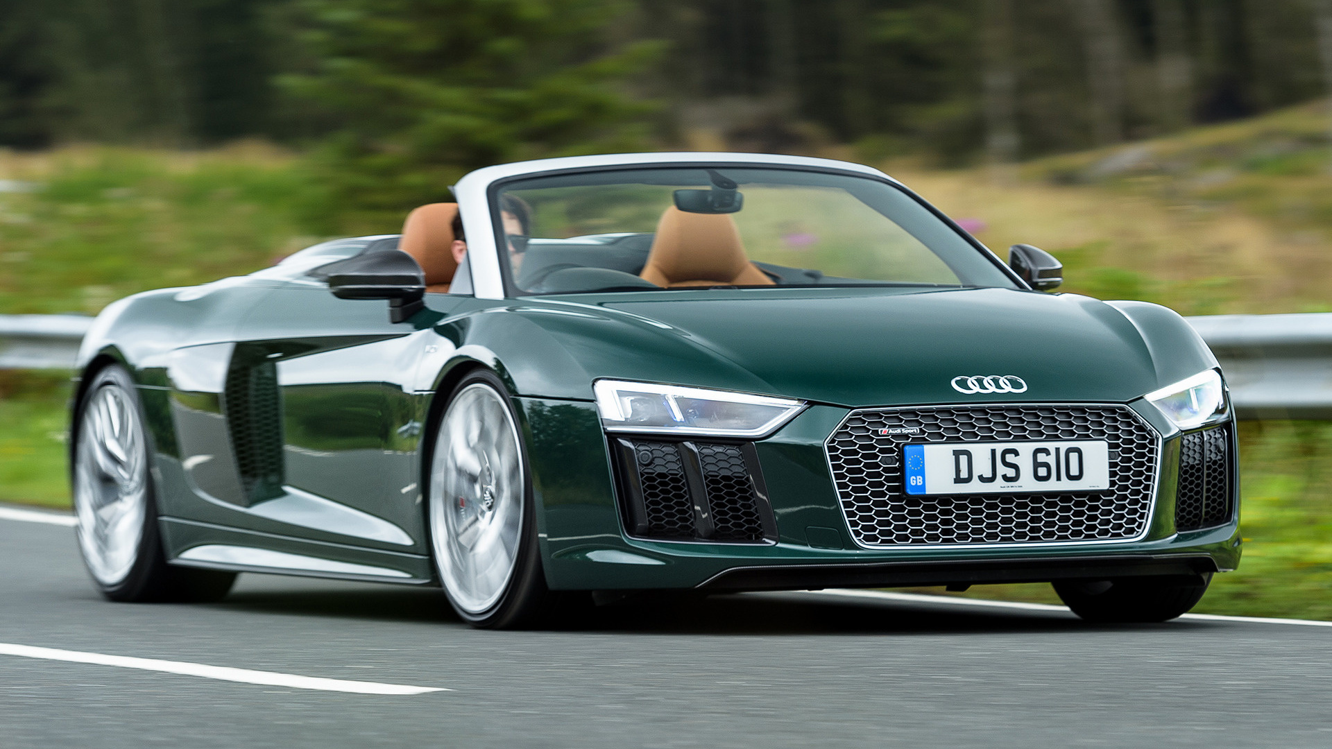 2017 Audi R8 Spyder Plus Uk Wallpapers And Hd Images