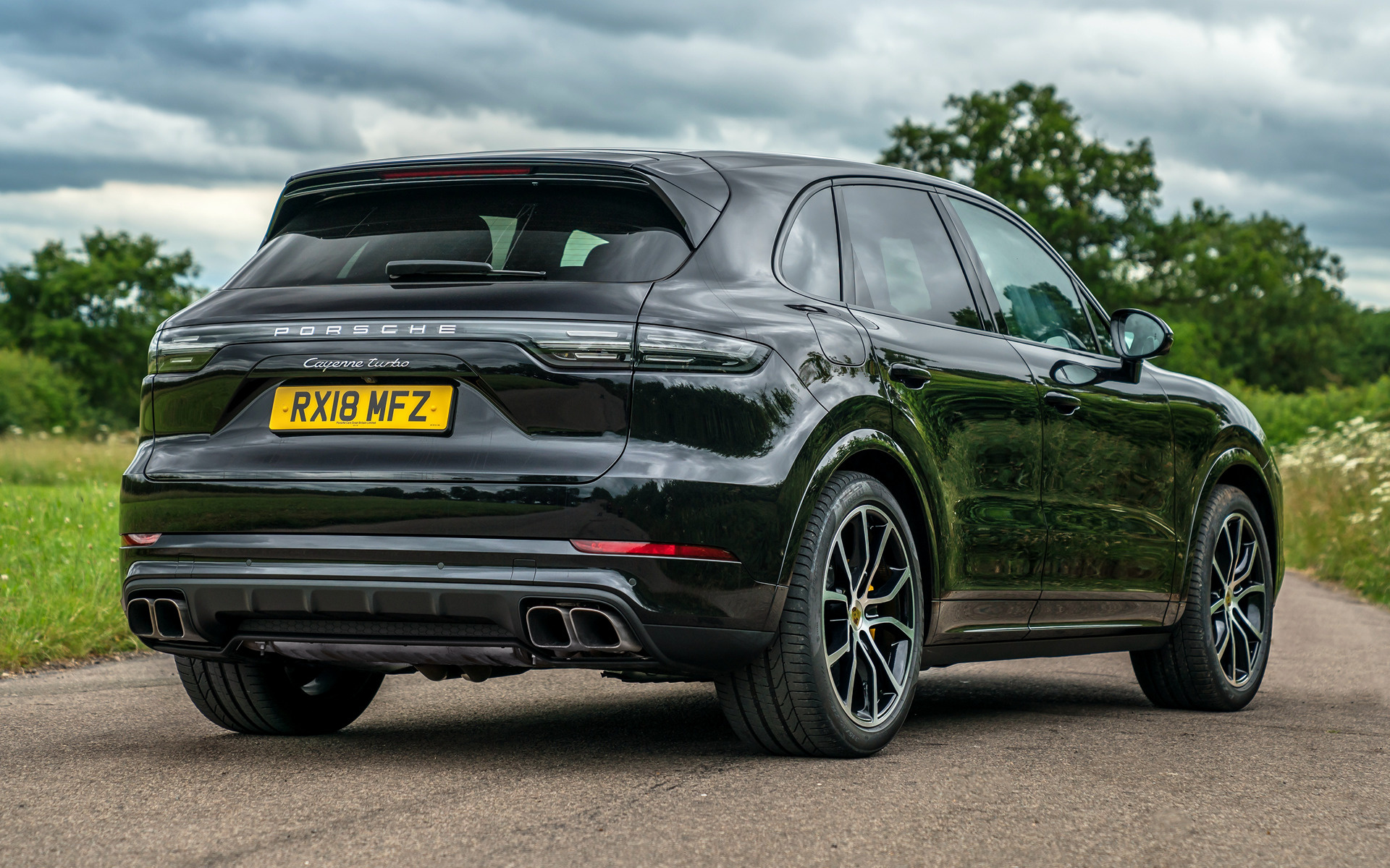 2018 Porsche Cayenne Turbo Uk Wallpapers And Hd Images