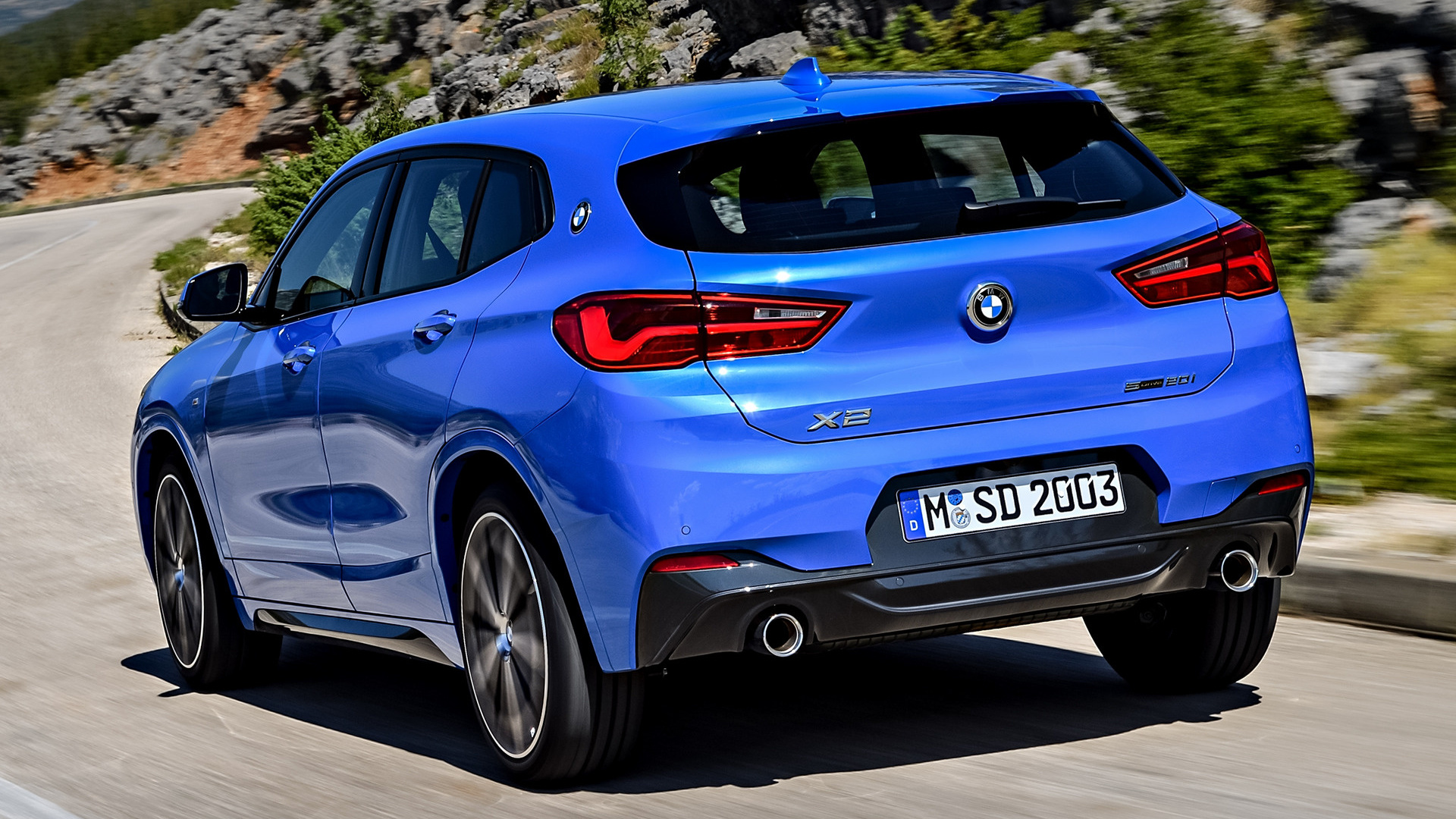 bmw x2 m sport 2018 wallpapers and hd images car pixel. Black Bedroom Furniture Sets. Home Design Ideas