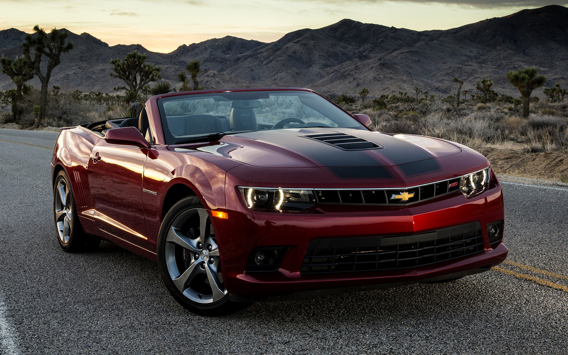 Chevrolet Camaro Ss Convertible 2014 Wallpapers And Hd
