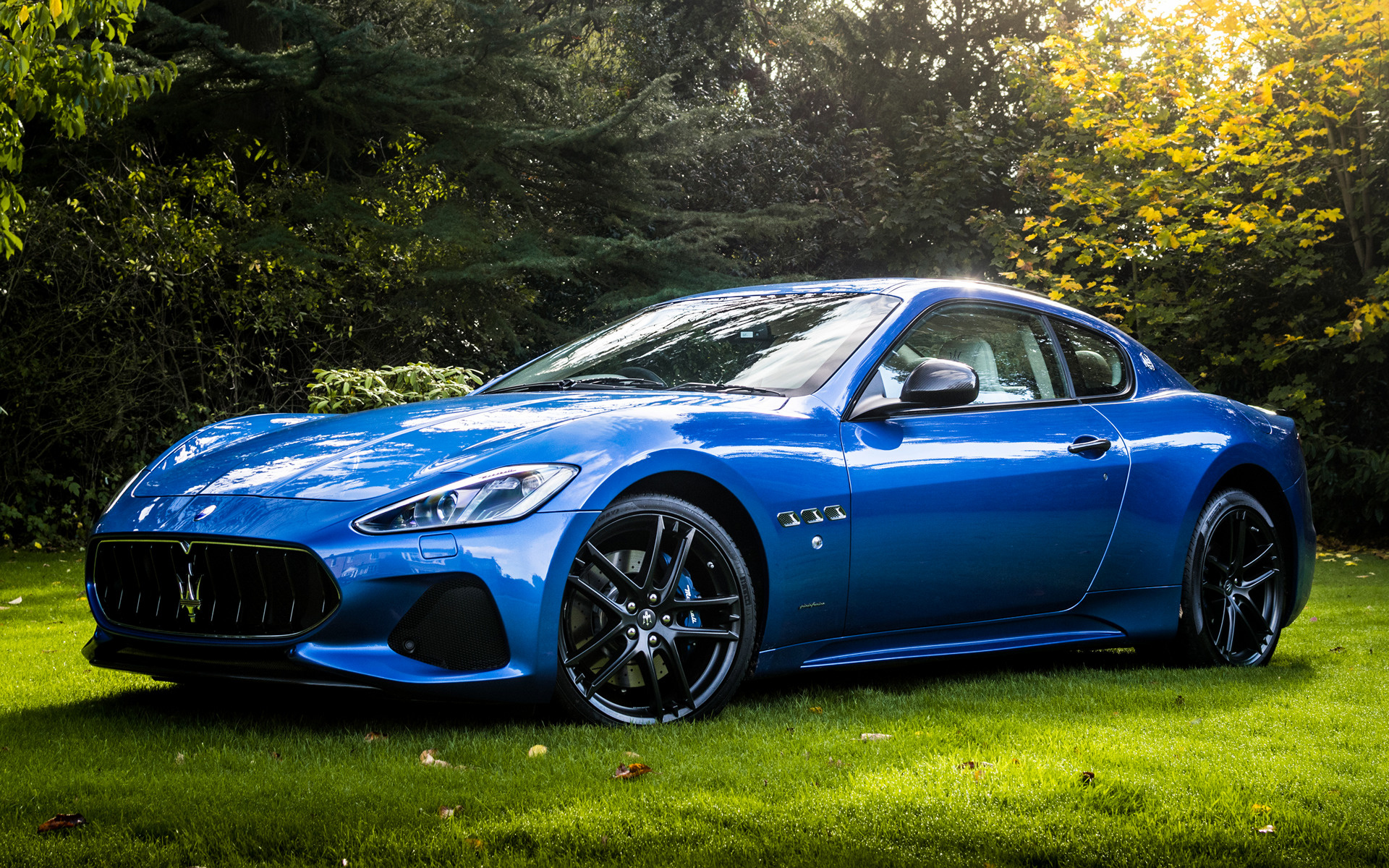 2017 Maserati Granturismo Sport Uk Wallpapers And Hd