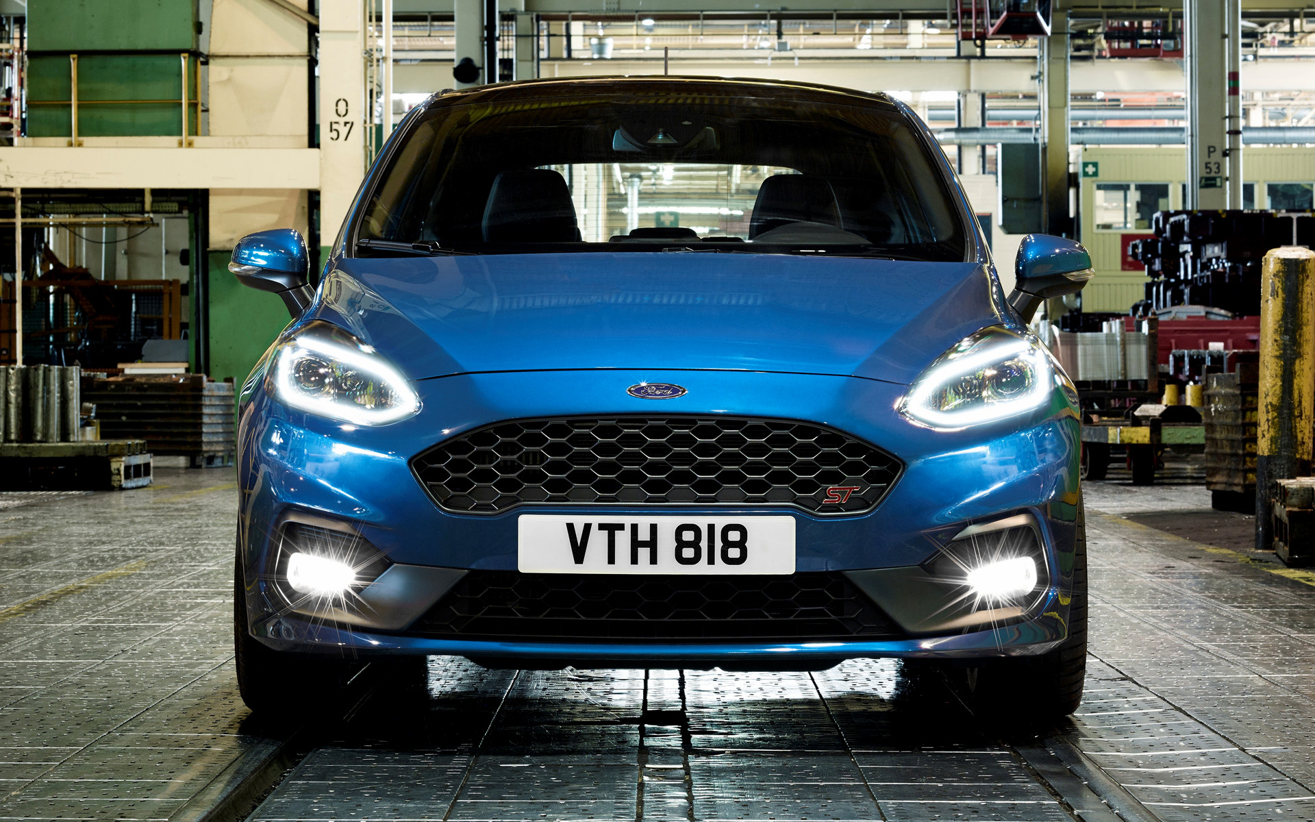 2018 Ford Fiesta St 3 Door Wallpapers And Hd Images Car Pixel