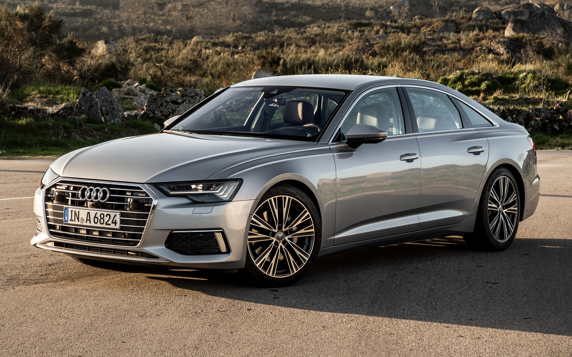 2018 audi a6 sedan wallpapers and hd images car pixel. Black Bedroom Furniture Sets. Home Design Ideas