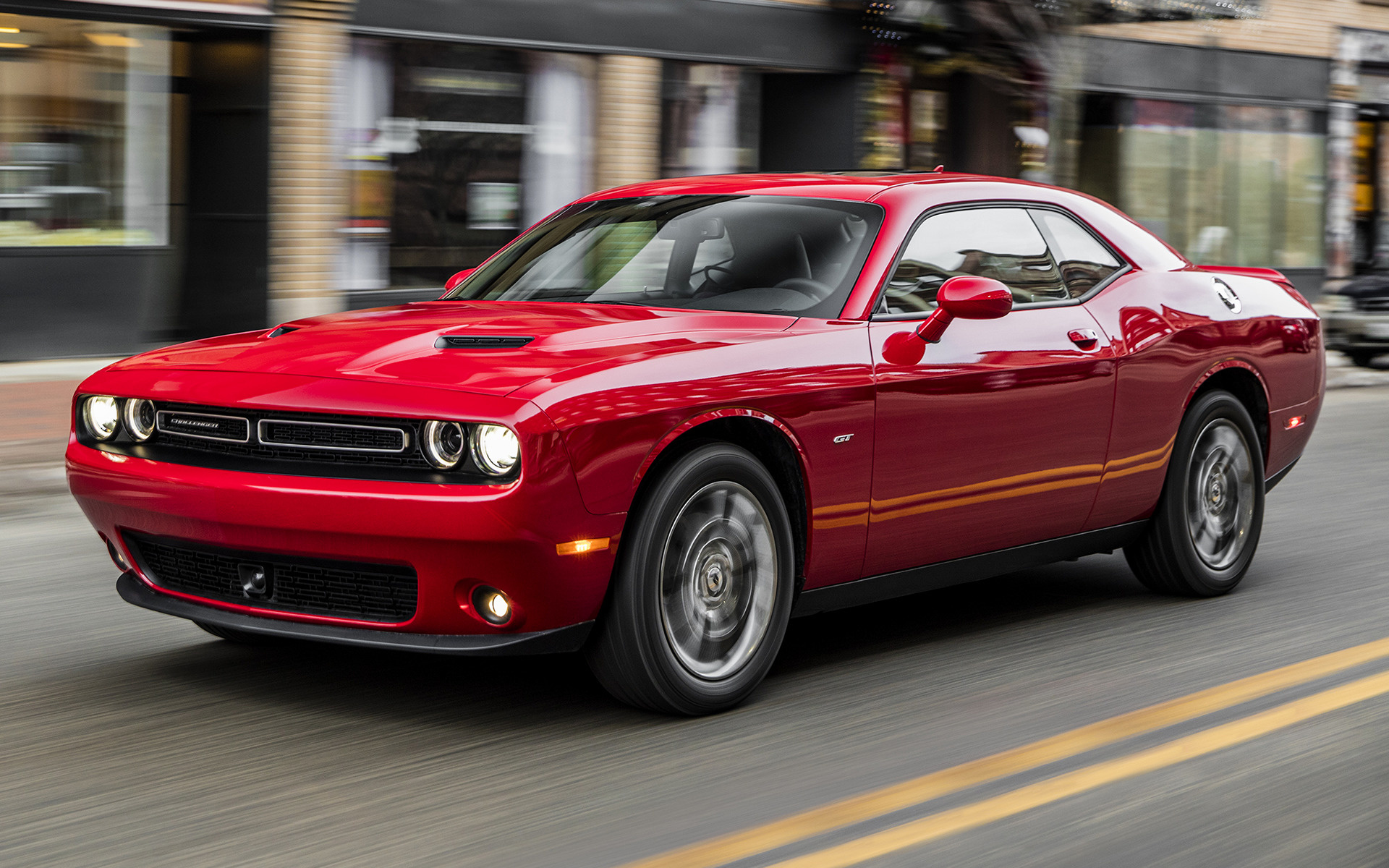 2016 Dodge Challenger Hellcat >> 2017 Dodge Challenger GT - Wallpapers and HD Images | Car ...