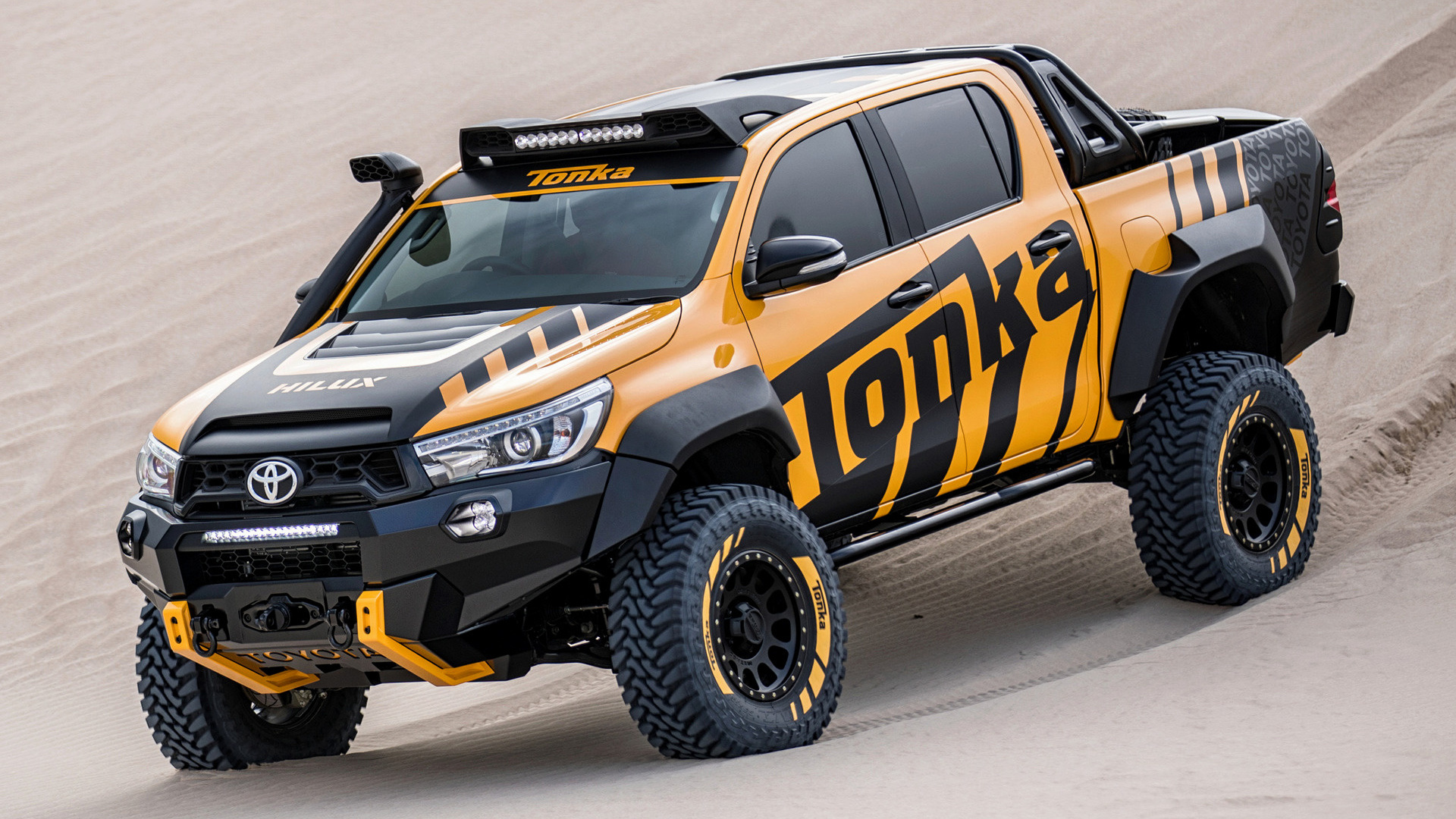 2017 Toyota Hilux Tonka Concept Wallpapers And Hd Images