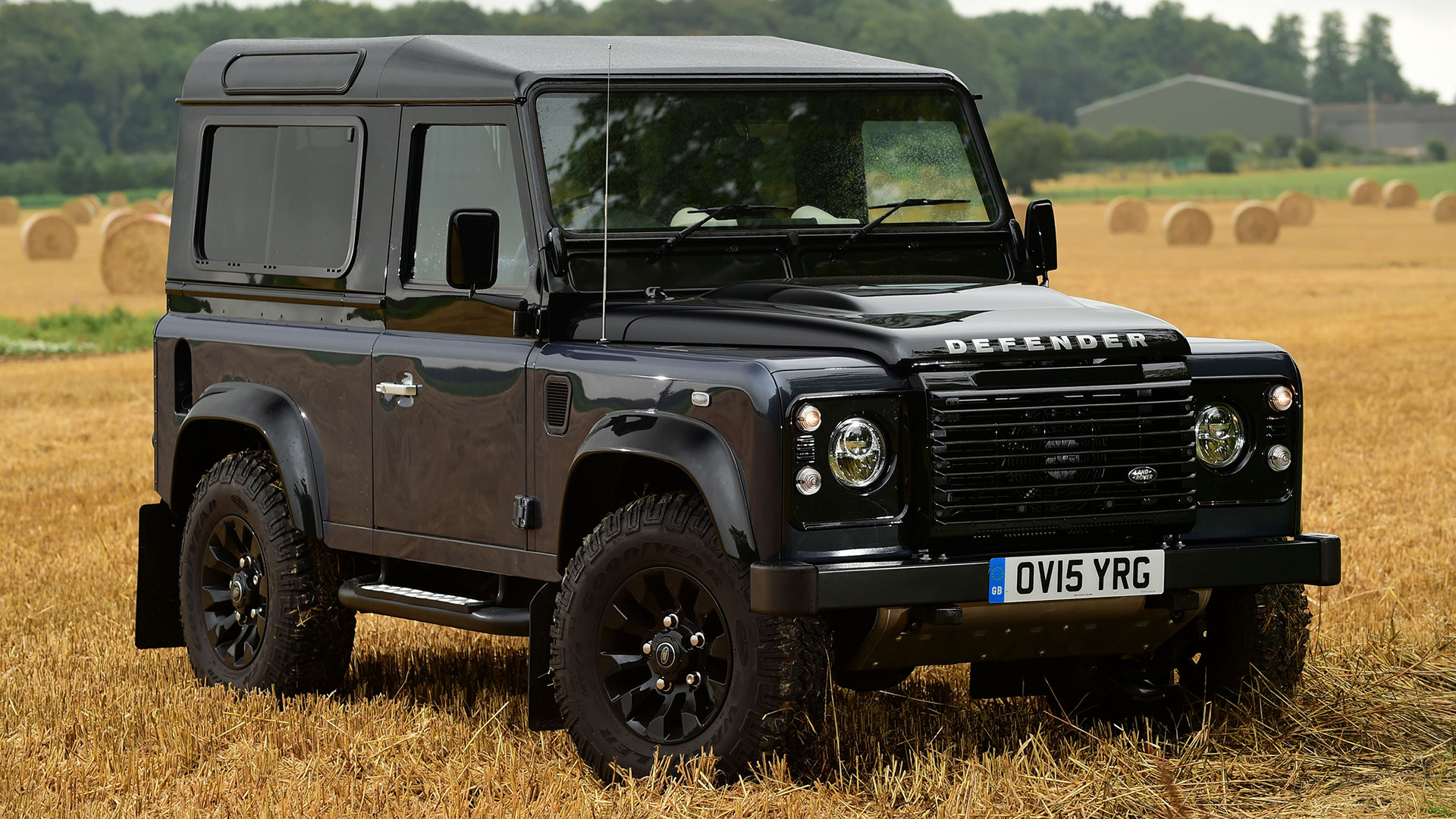 Land Rover Defender 90 Autobiography 2015 Uk Wallpapers