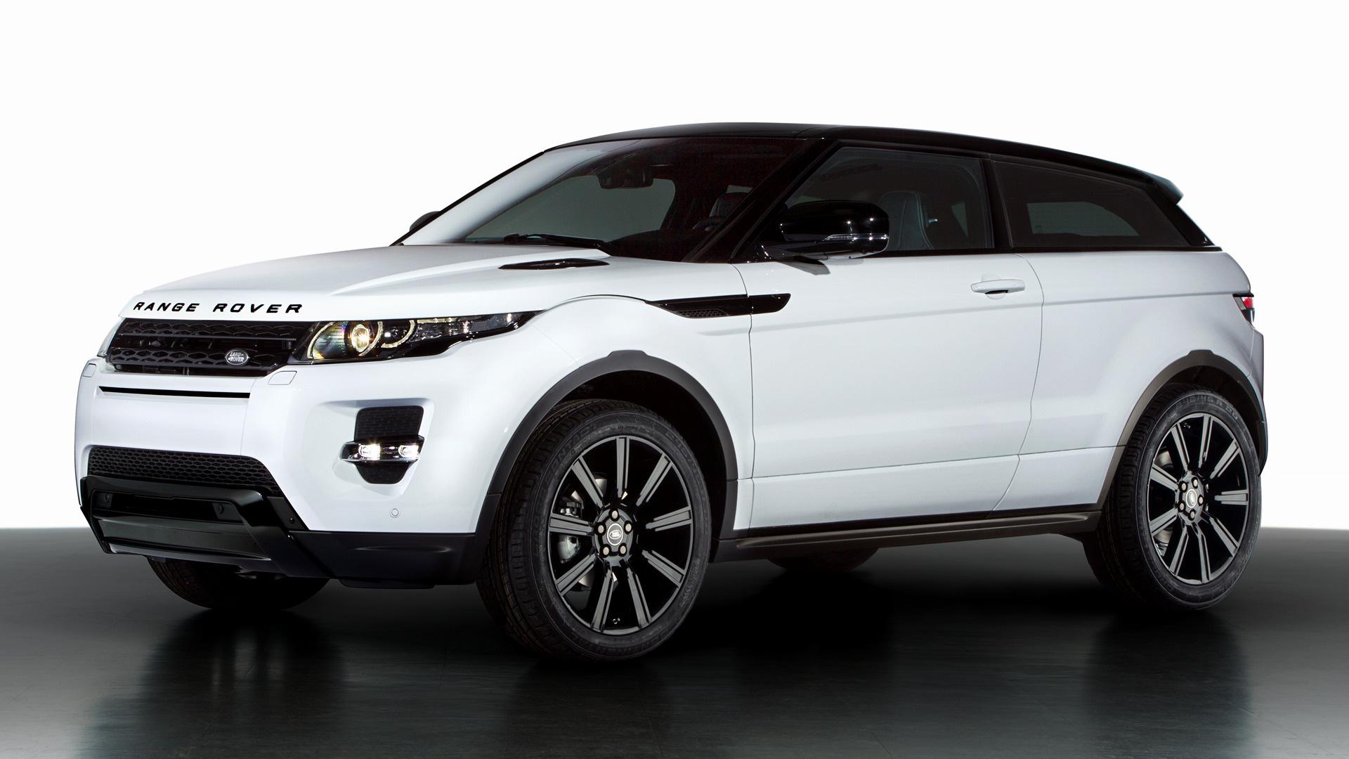 range rover evoque coupe dynamic black design pack 2013 wallpapers and hd images car pixel. Black Bedroom Furniture Sets. Home Design Ideas