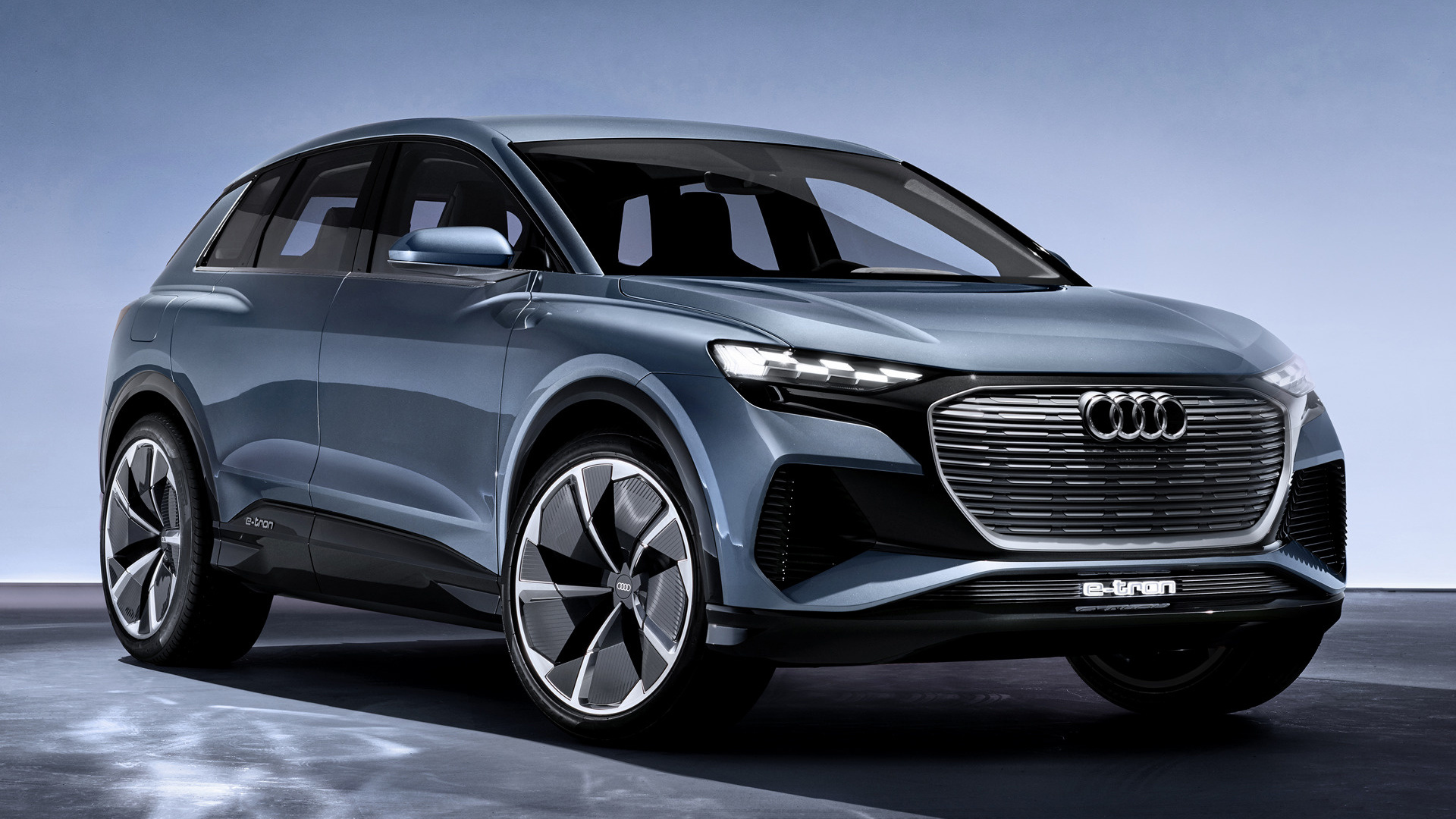 2019 Audi Q4 E-Tron concept - Wallpapers and HD Images ...