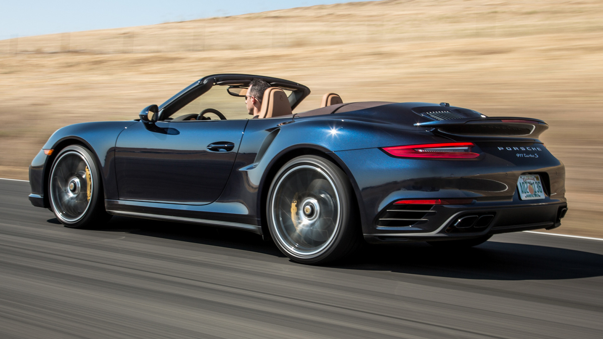 Porsche 911 Turbo S Cabriolet (2017) US Wallpapers and HD Images - Car ...