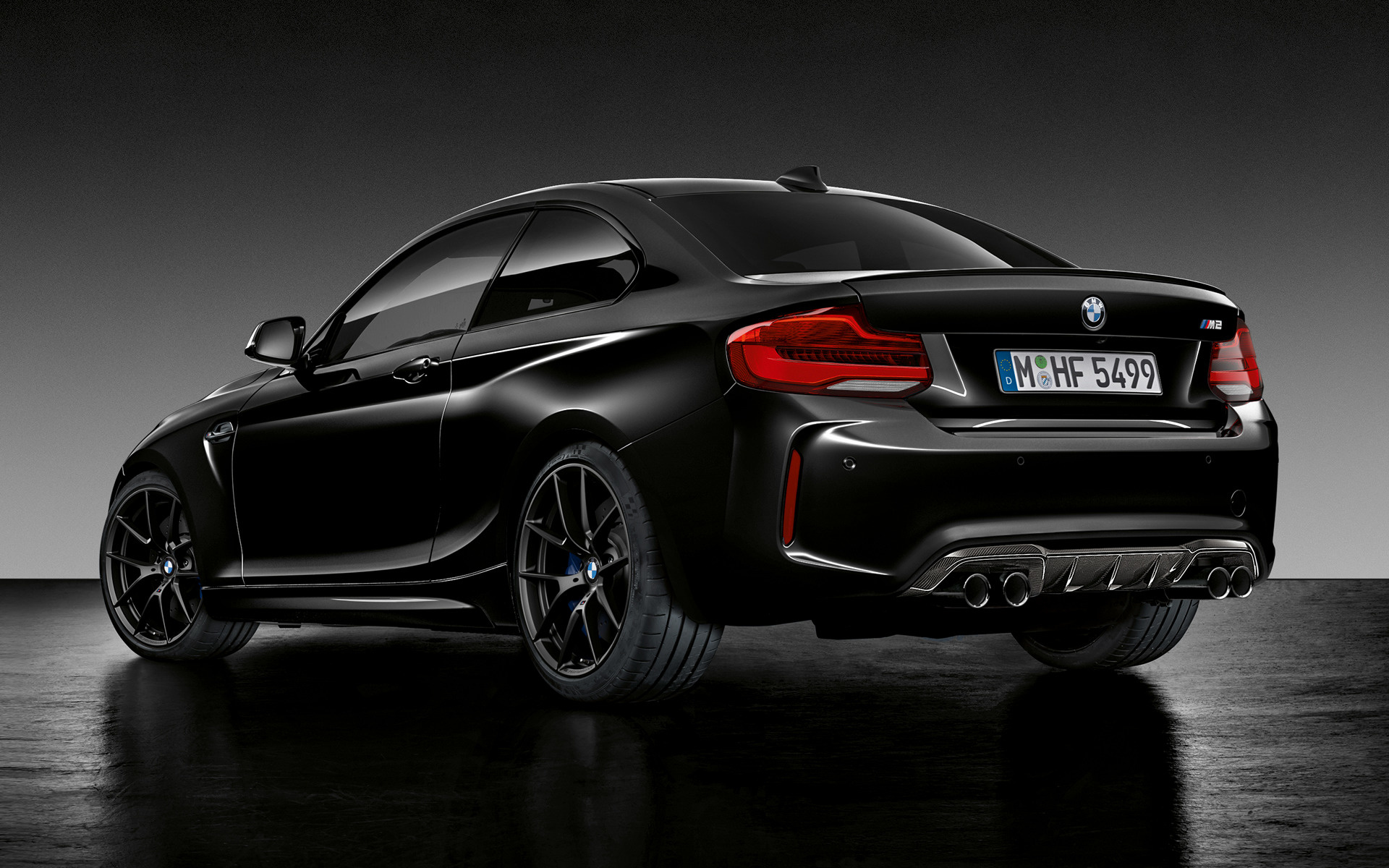 2018 Bmw M2 Coupe Black Shadow Edition Sfondi E Immagini
