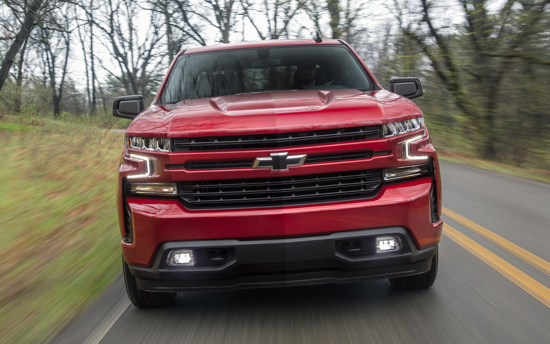 2019 Chevrolet Silverado Rst Crew Cab Wallpapers And Hd