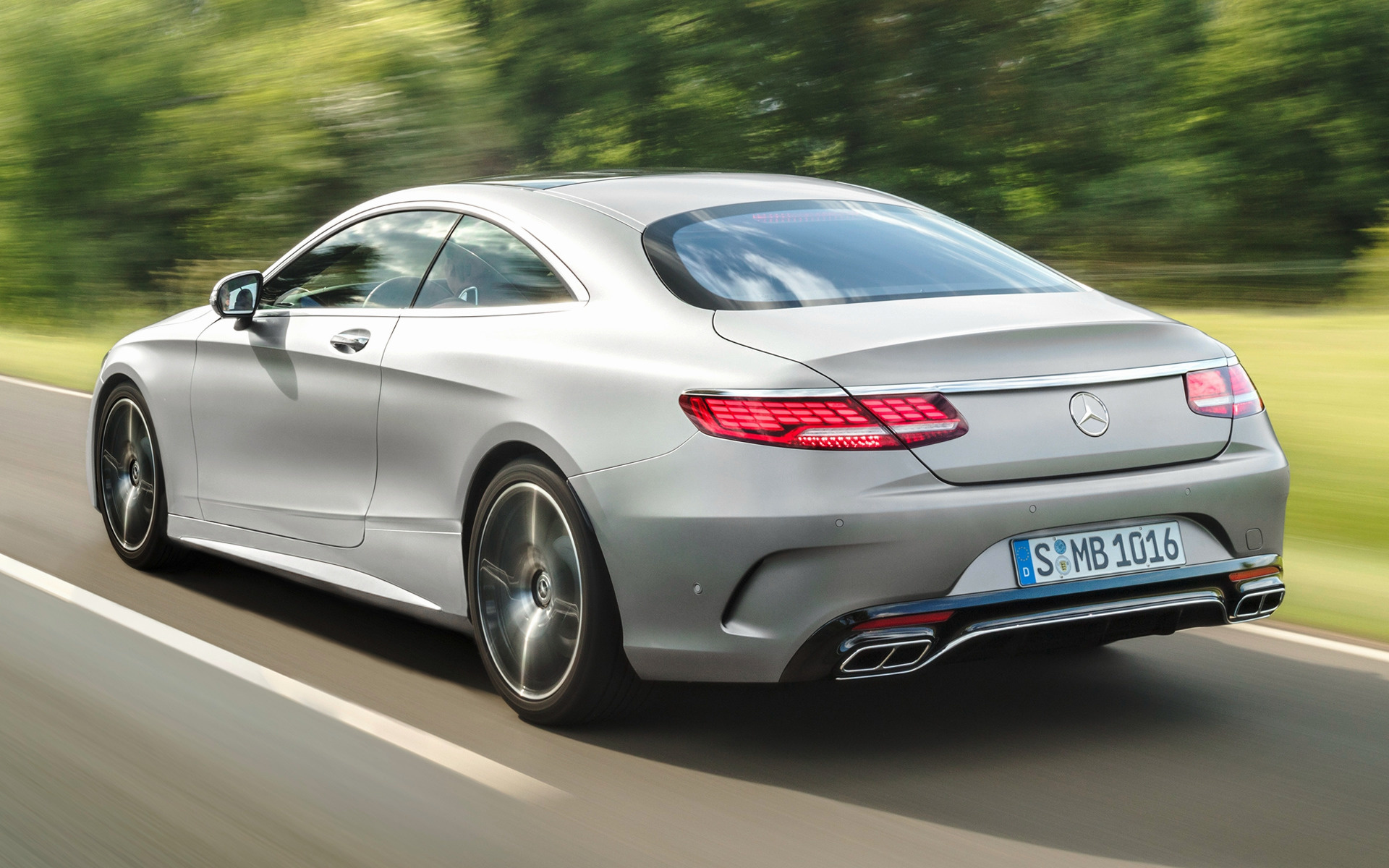 2018 Mercedes Benz S Class Coupe Amg Line Wallpapers And Hd Images Car Pixel