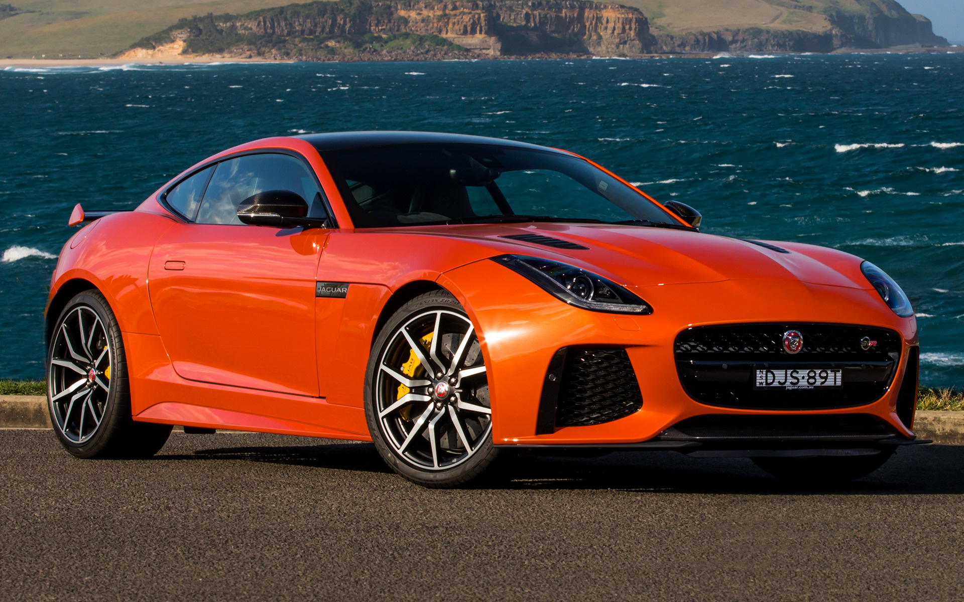 Genesis Coupe 2016 >> 2016 Jaguar F-Type SVR Coupe (AU) - Wallpapers and HD Images | Car Pixel