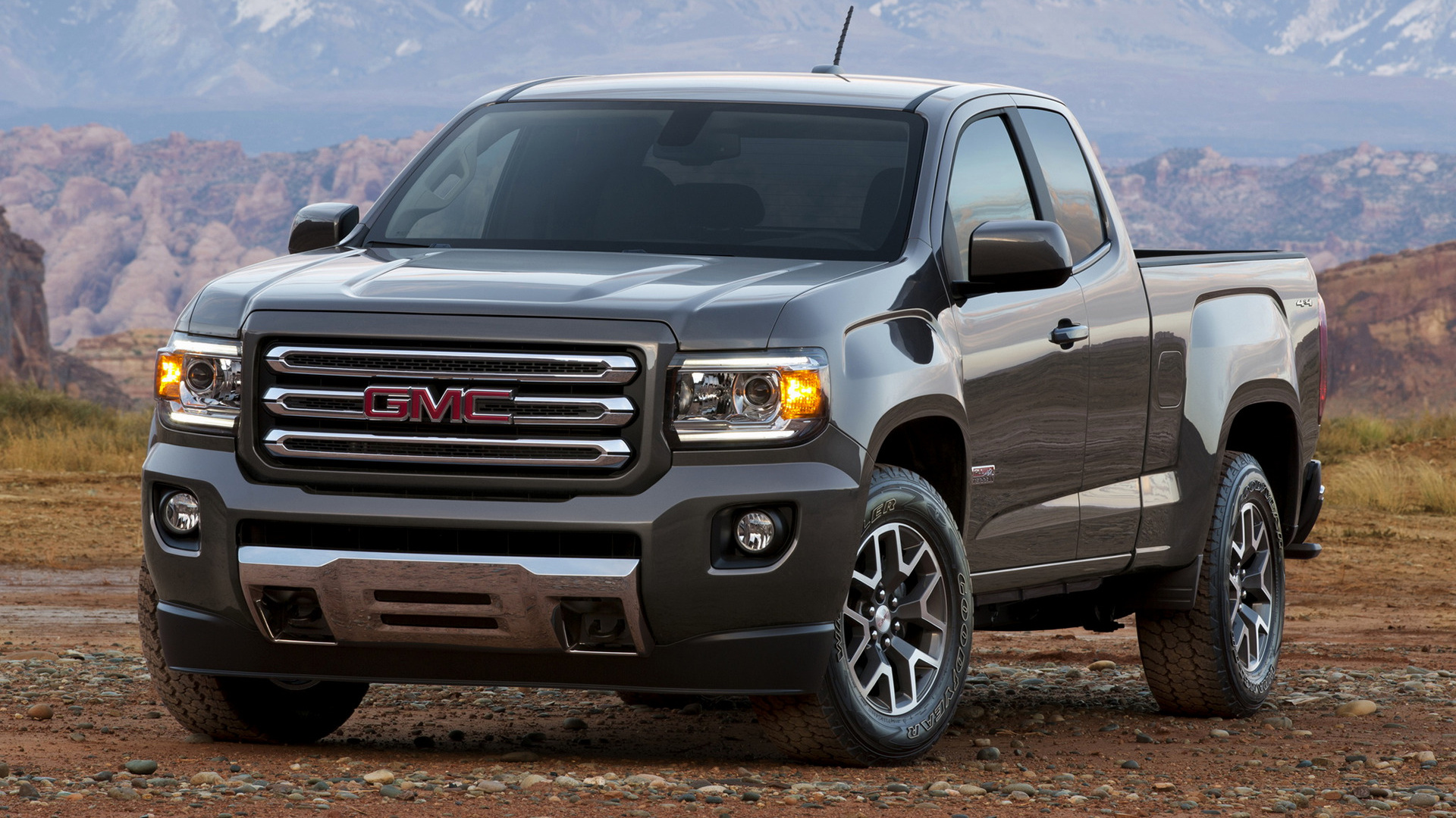 gmc canyon all terrain extended cab 2015 wallpapers and hd images car pixel. Black Bedroom Furniture Sets. Home Design Ideas