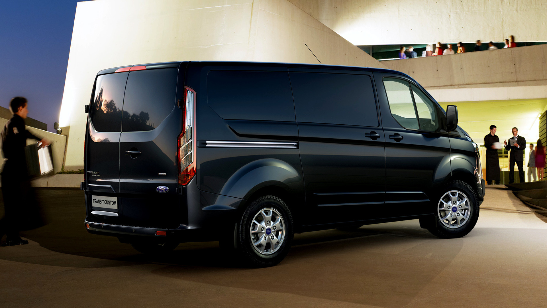 2012 ford transit custom wallpapers and hd images car. Black Bedroom Furniture Sets. Home Design Ideas