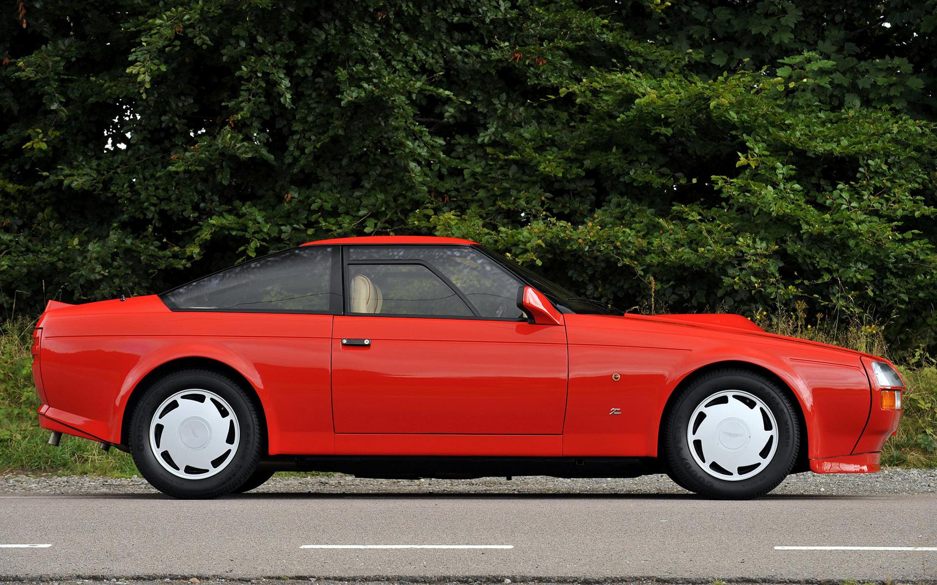 1986 Aston Martin V8 Vantage Zagato Uk Wallpapers And Hd Images Car Pixel