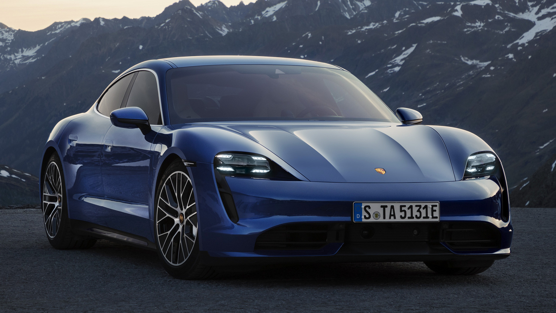 2019 Porsche Taycan Turbo Wallpapers And Hd Images Car Pixel