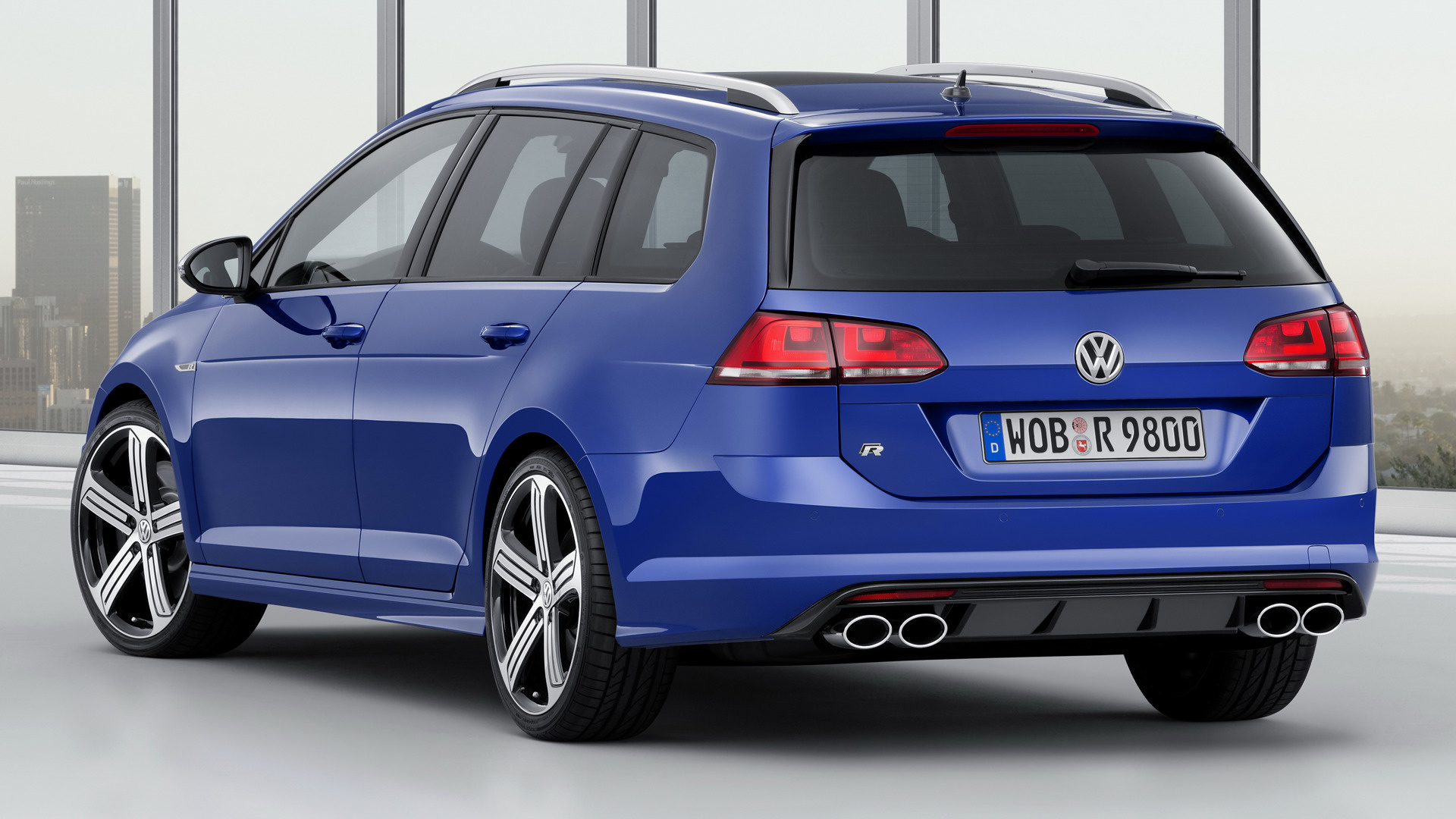 Skoda Vision E >> Volkswagen Golf R Variant (2015) Wallpapers and HD Images - Car Pixel