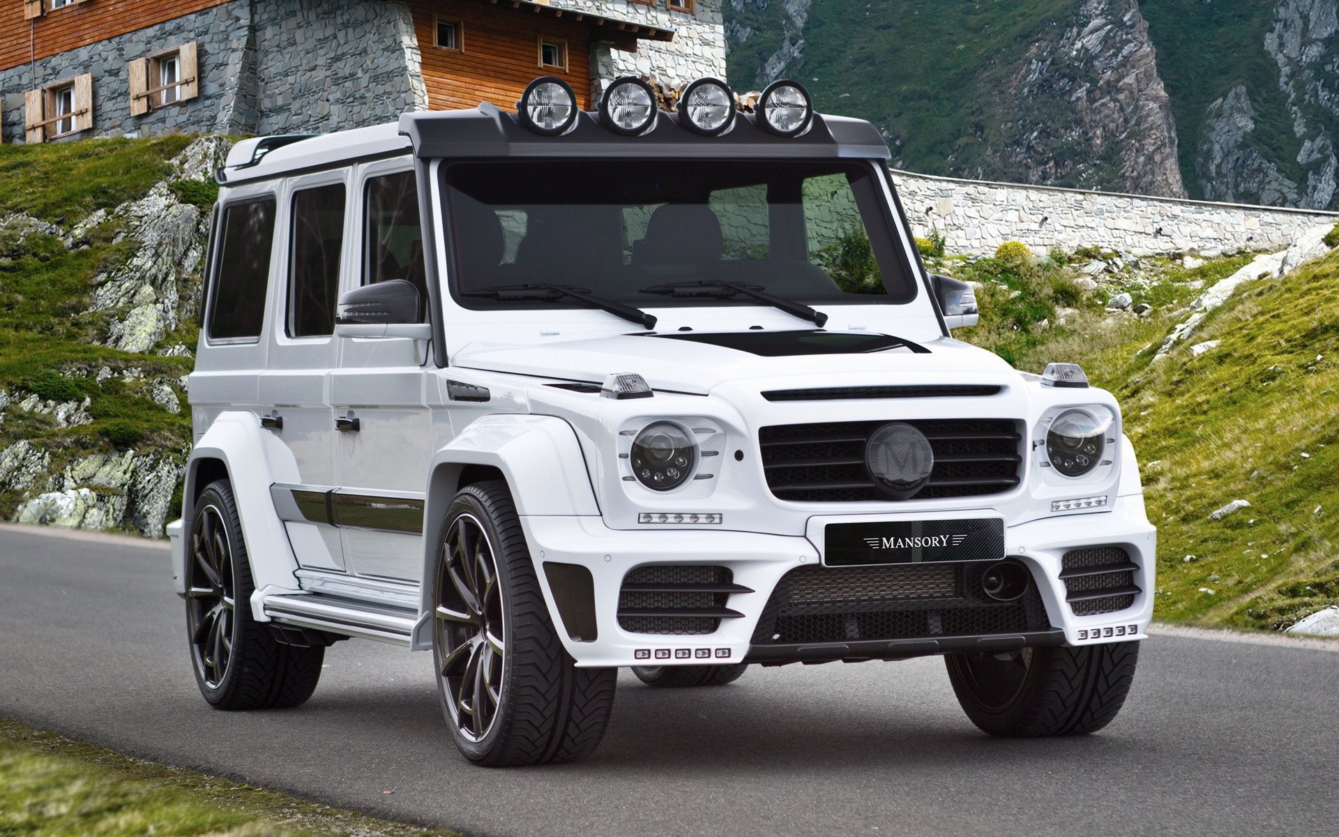 Mansory Gronos 2016 Wallpapers And Hd Images Car Pixel