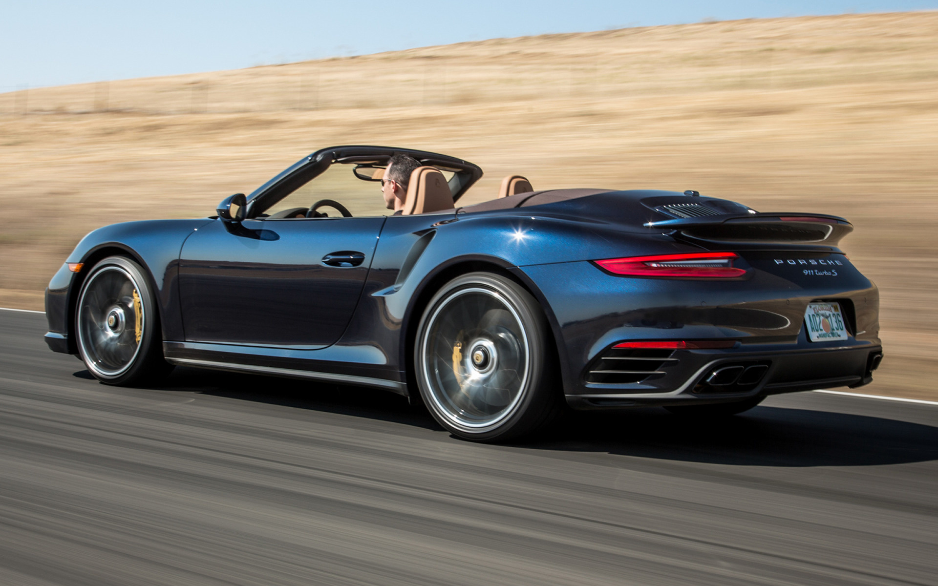 Porsche 911 Turbo S Cabriolet 2017 Us Wallpapers And Hd