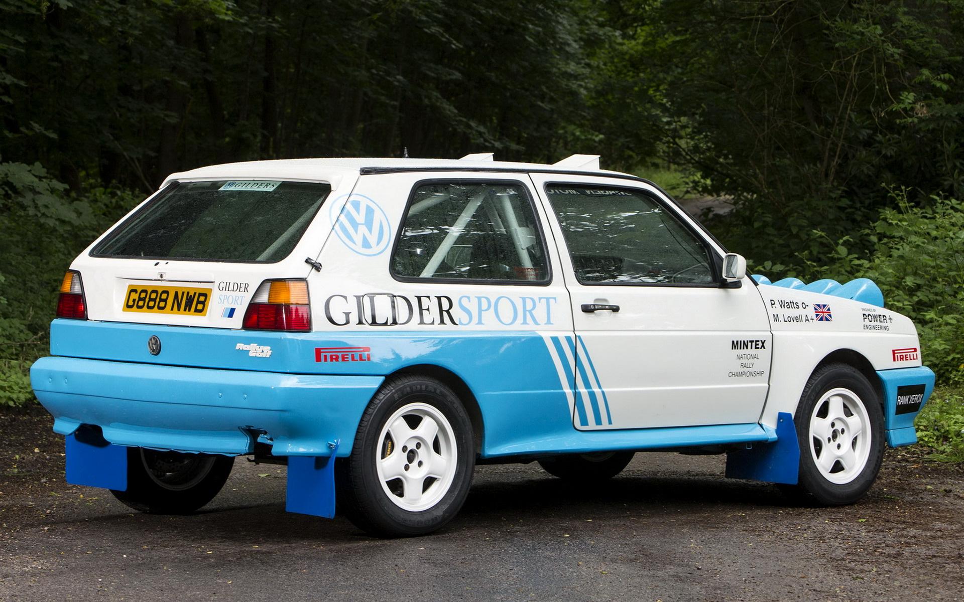 volkswagen rallye golf rally car  wallpapers  hd images car pixel