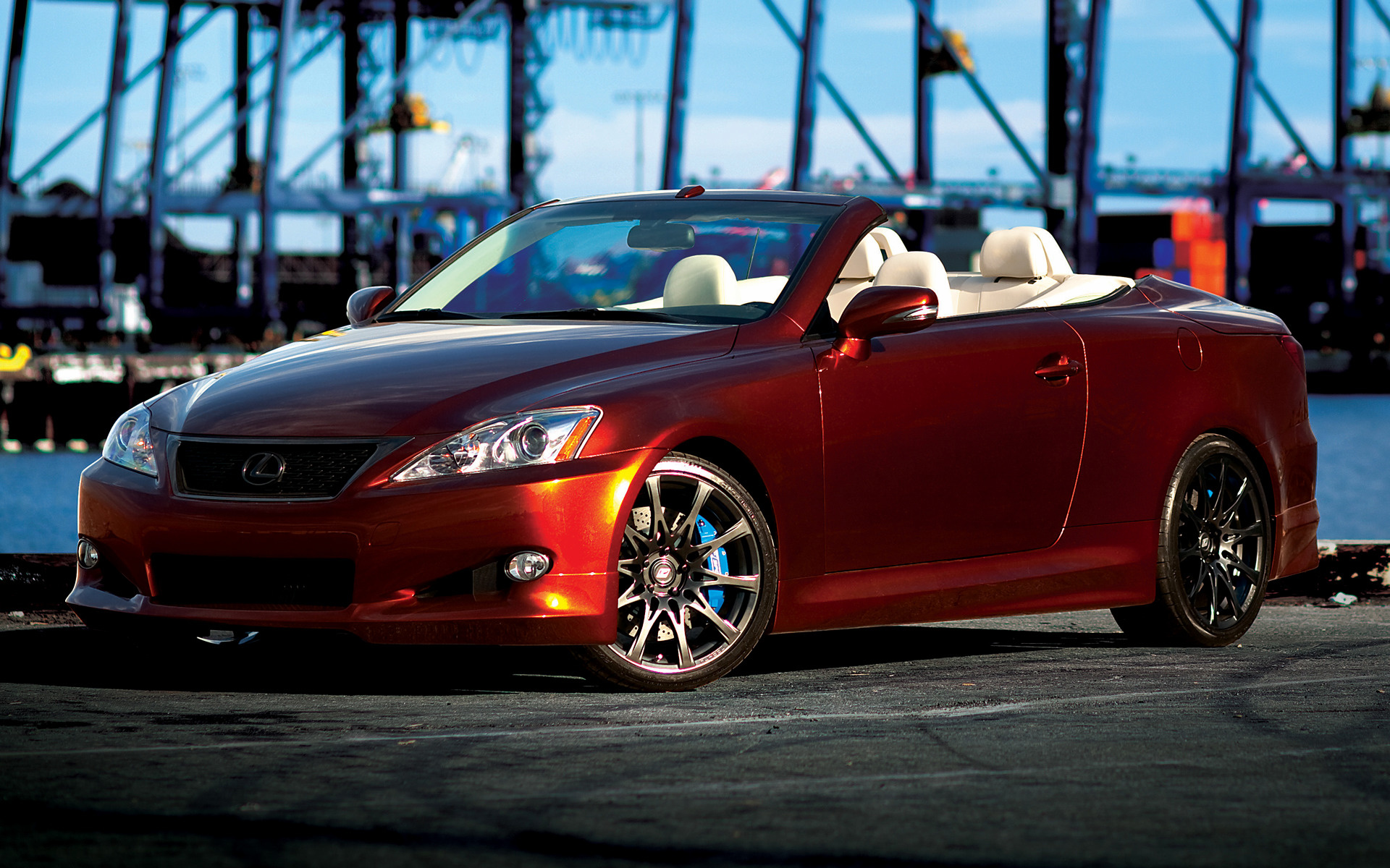 lexus is convertible f sport by trd 2009 wallpapers and hd images car pixel. Black Bedroom Furniture Sets. Home Design Ideas
