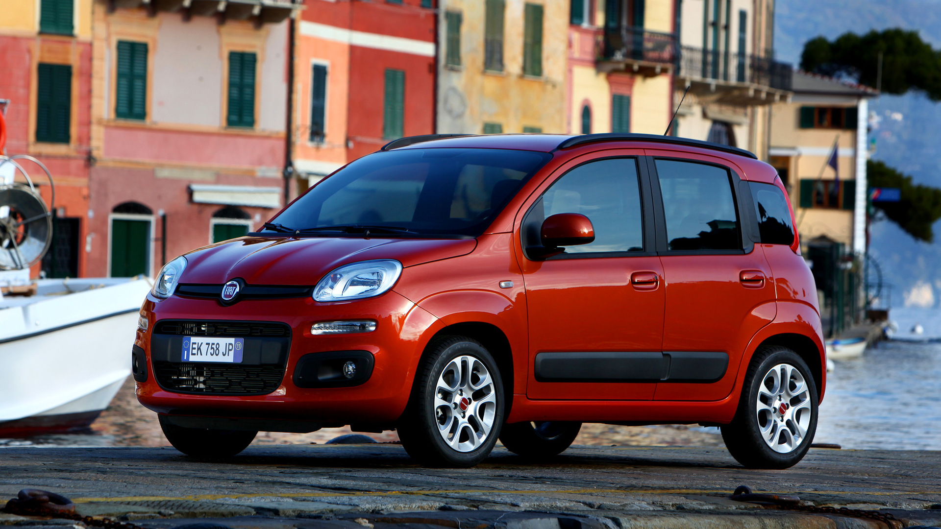 fiat panda 2012 wallpapers and hd images car pixel. Black Bedroom Furniture Sets. Home Design Ideas