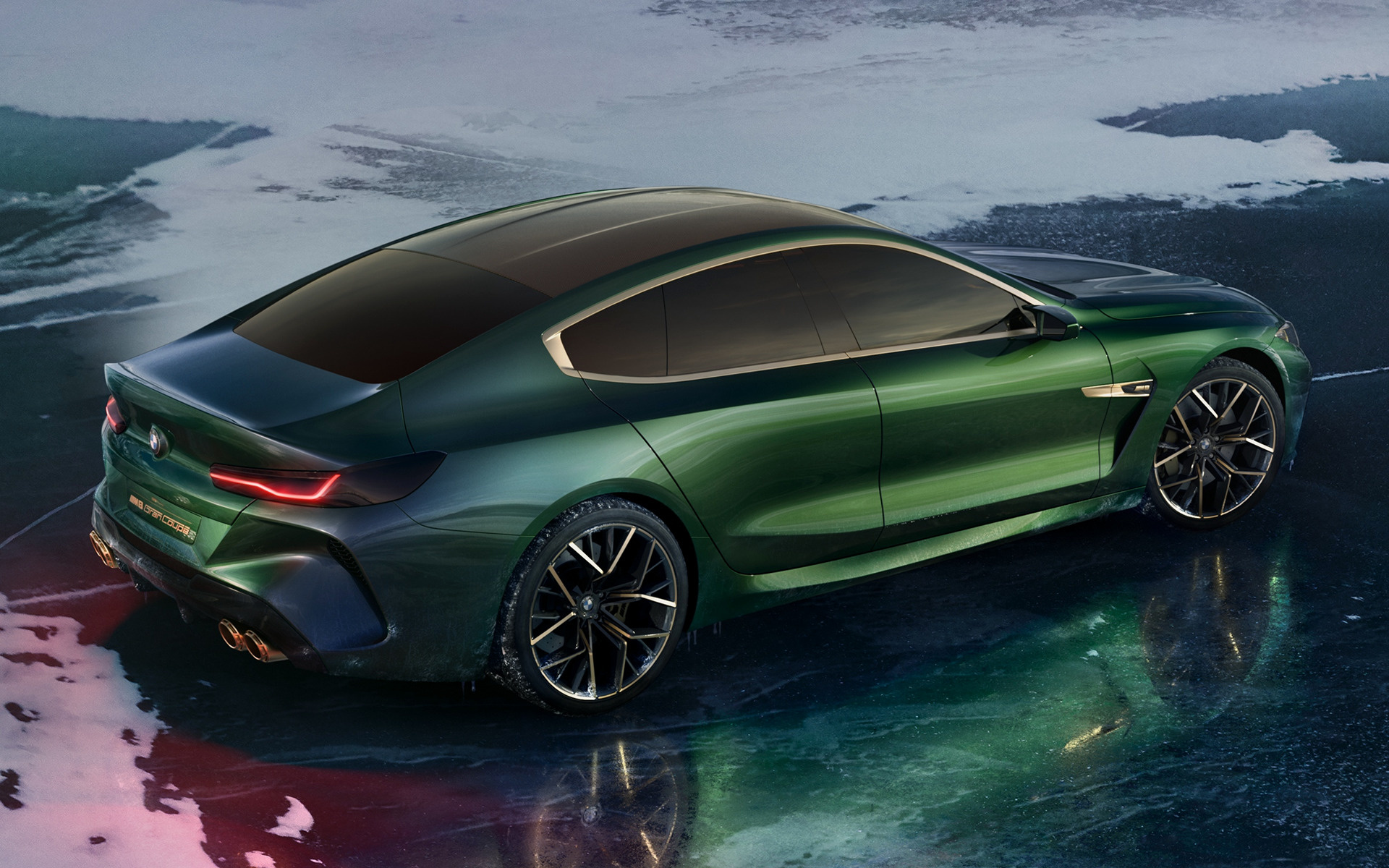 2018 BMW Concept M8 Gran Coupe - Wallpapers and HD Images ...