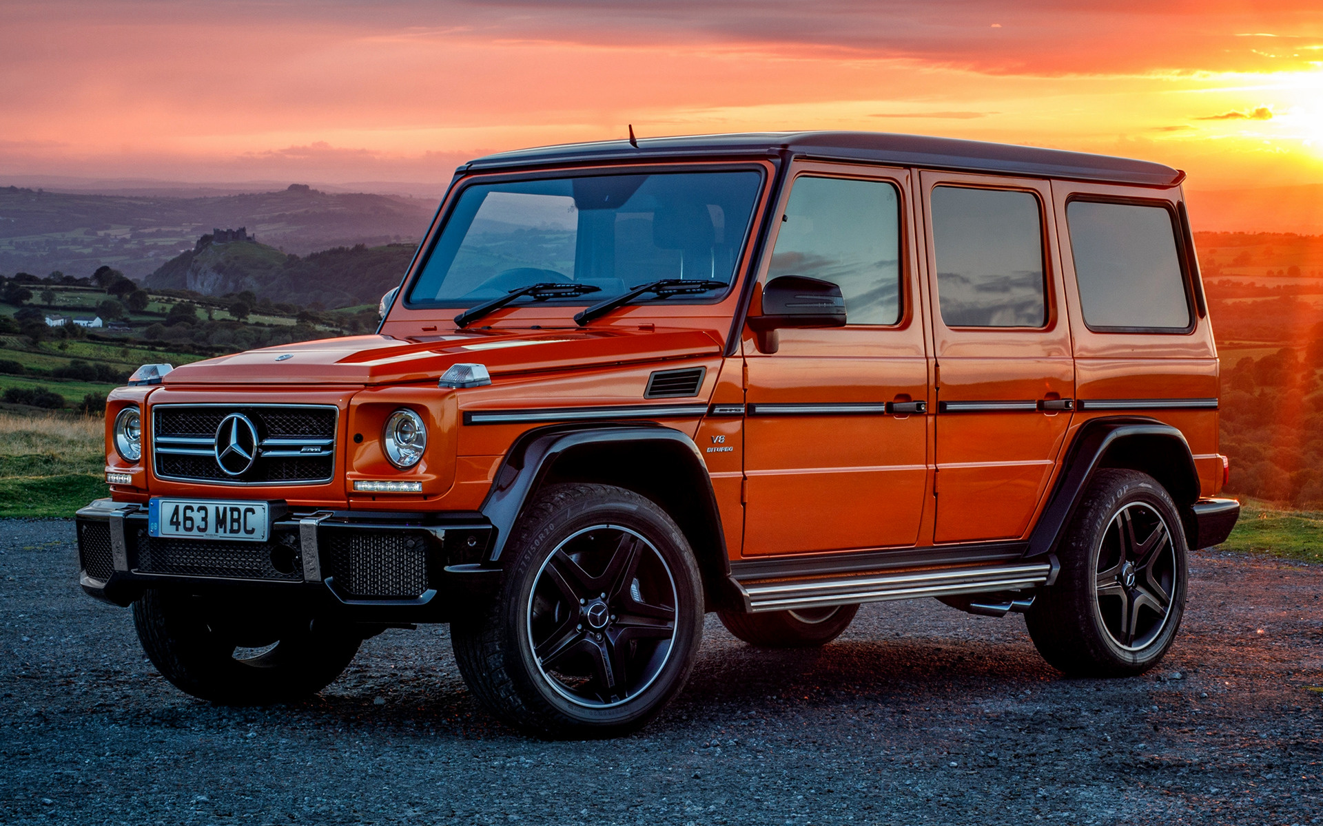 2016 Mercedes Amg G 63 Colour Edition Uk Wallpapers