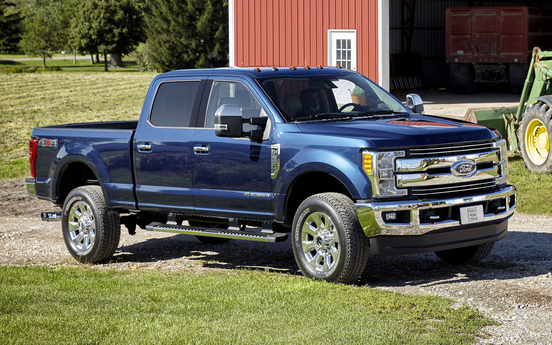 Ford F-250 Lariat Crew Cab (2017) Wallpapers and HD Images ...