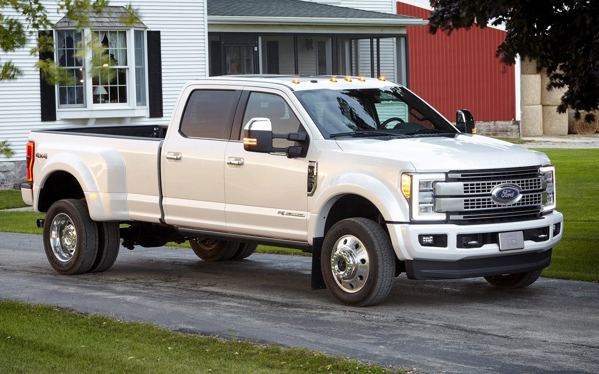 Ford F-450 Platinum Crew Cab (2017) Wallpapers and HD ...