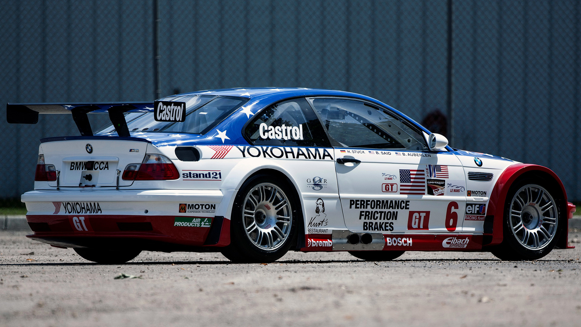 2001 Bmw M3 Gtr Alms Wallpapers And Hd Images Car Pixel