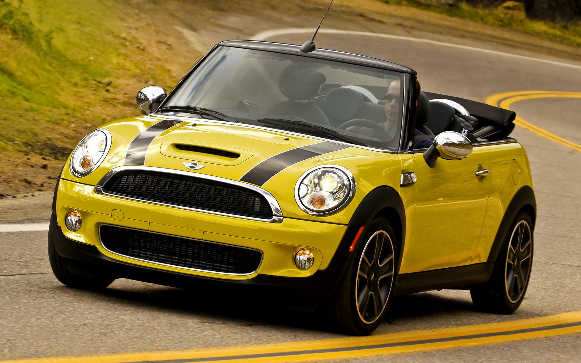 2009 Mini Cooper S Convertible Us Wallpapers And Hd Images Car Pixel