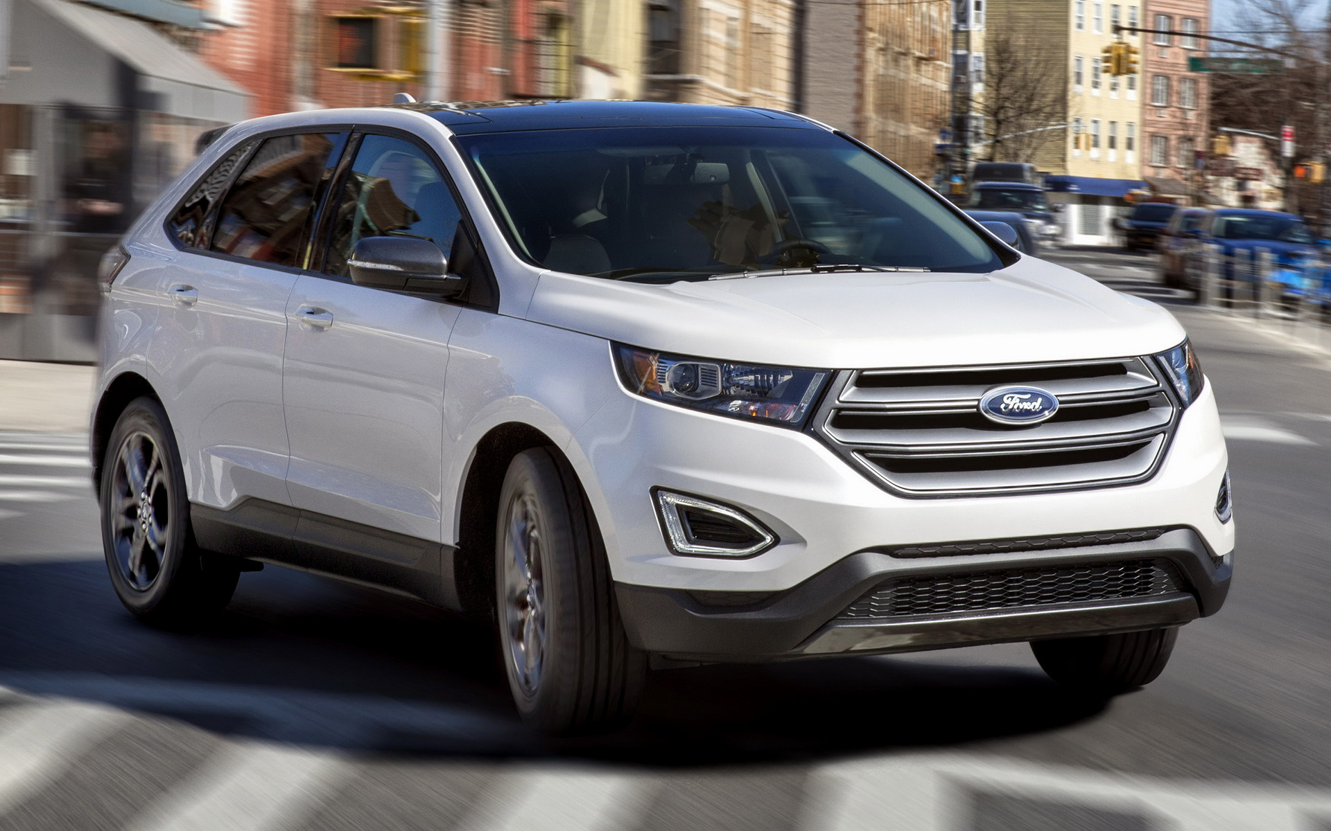 Wide   C B Ford Edge Sel Sport Appearance Package