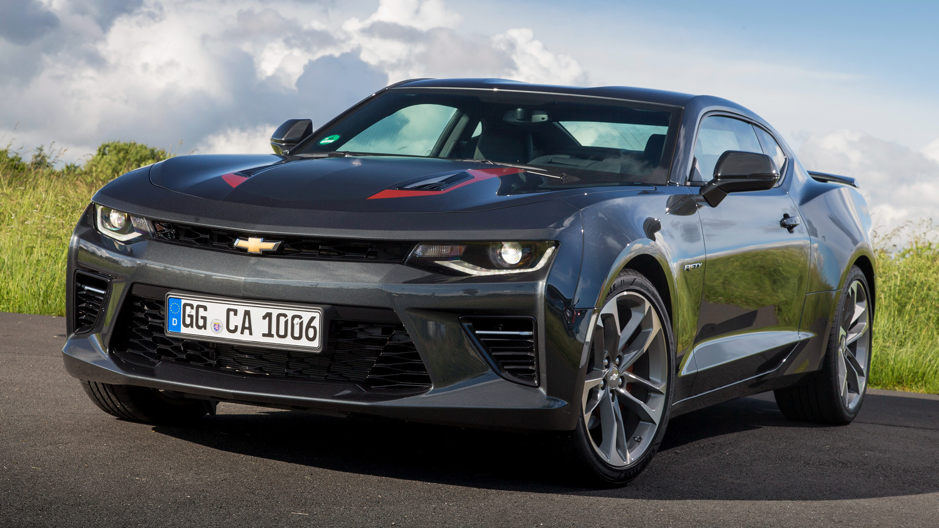 Chevrolet Camaro V8 50th Anniversary (2016) EU Wallpapers and HD ...