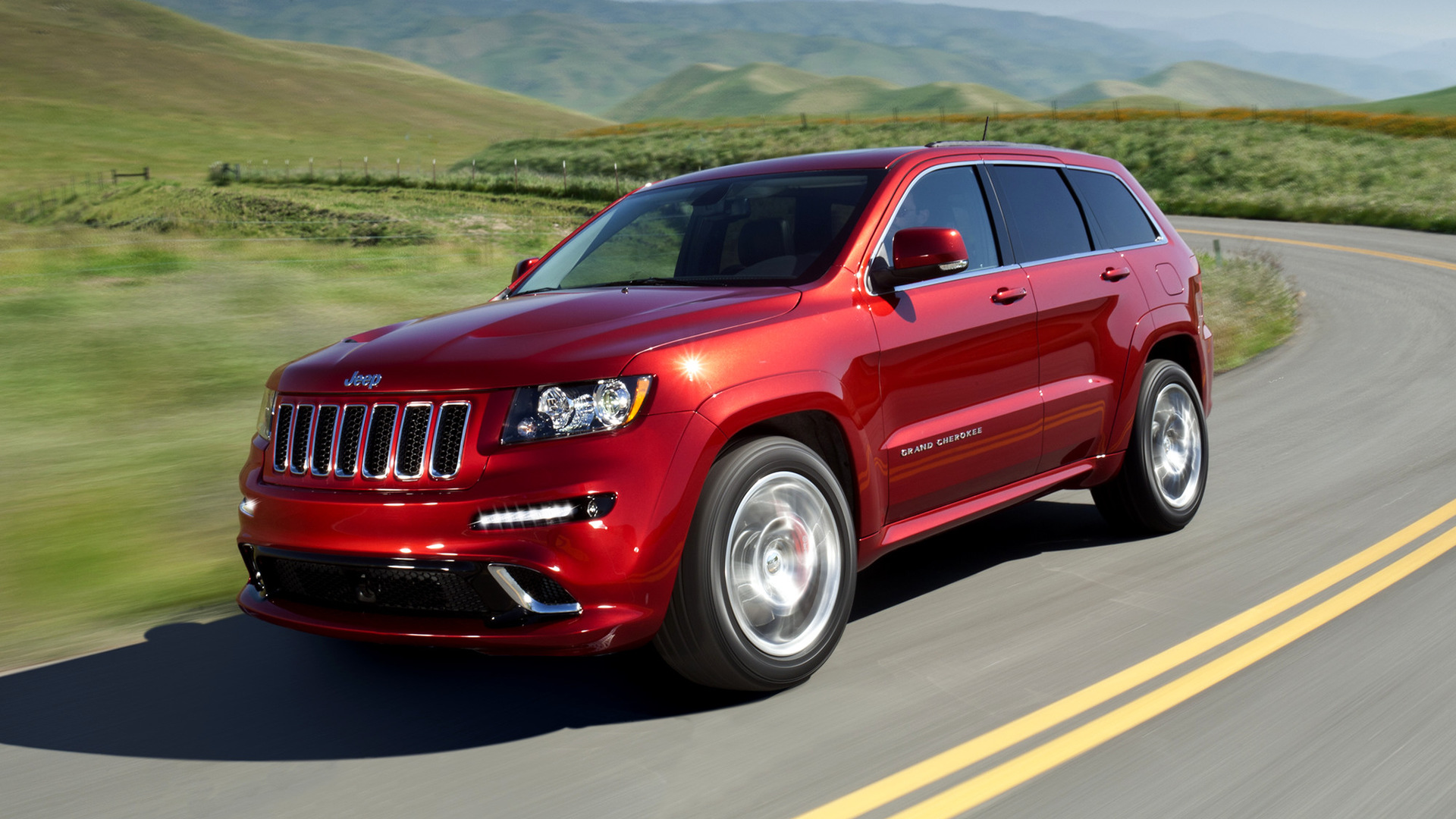 Jeep Srt8 2008 >> 2011 Jeep Grand Cherokee SRT8 - Wallpapers and HD Images | Car Pixel