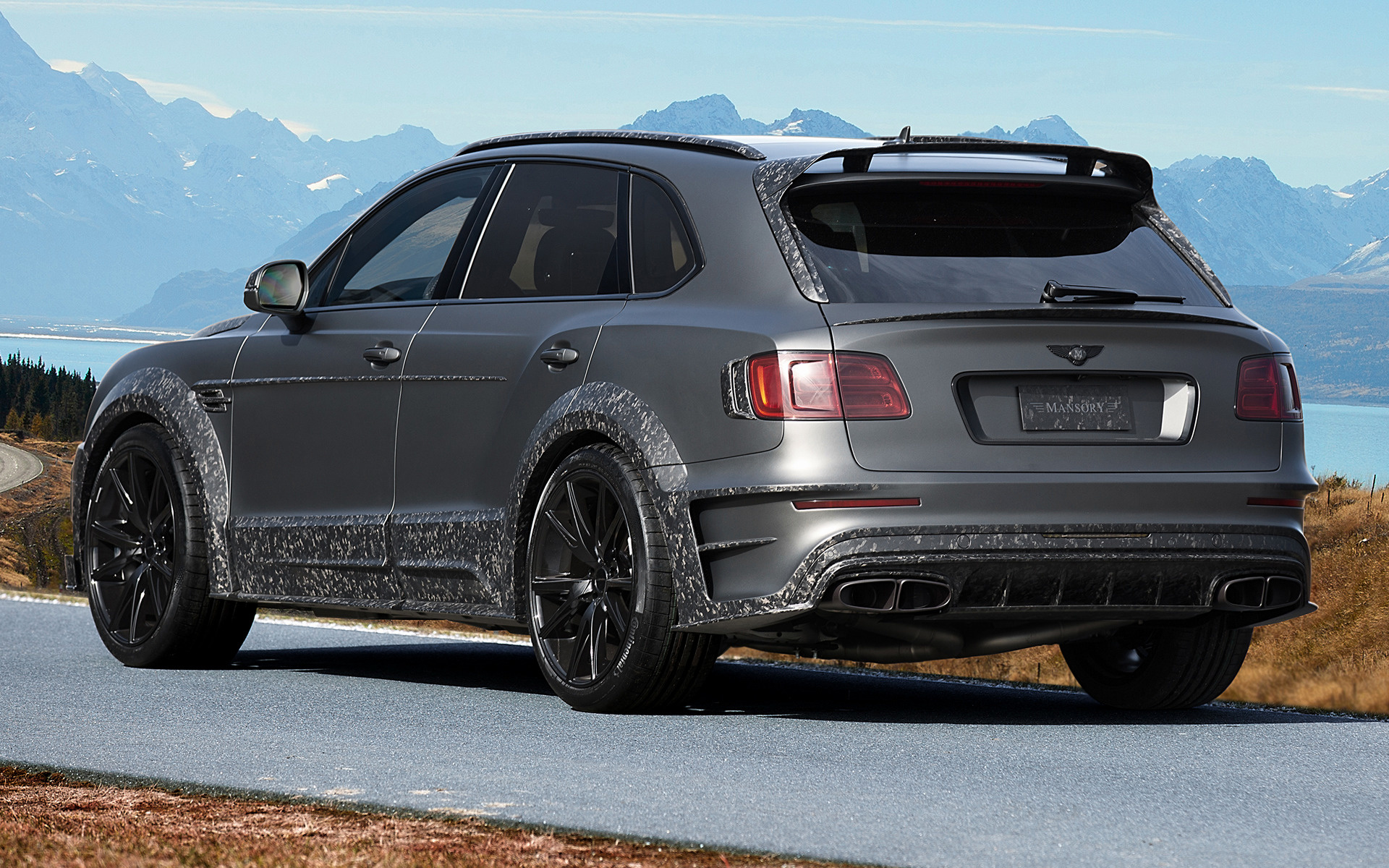 2017 Bentley Bentayga Black Edition By Mansory Wallpapers And Hd Images Car Pixel