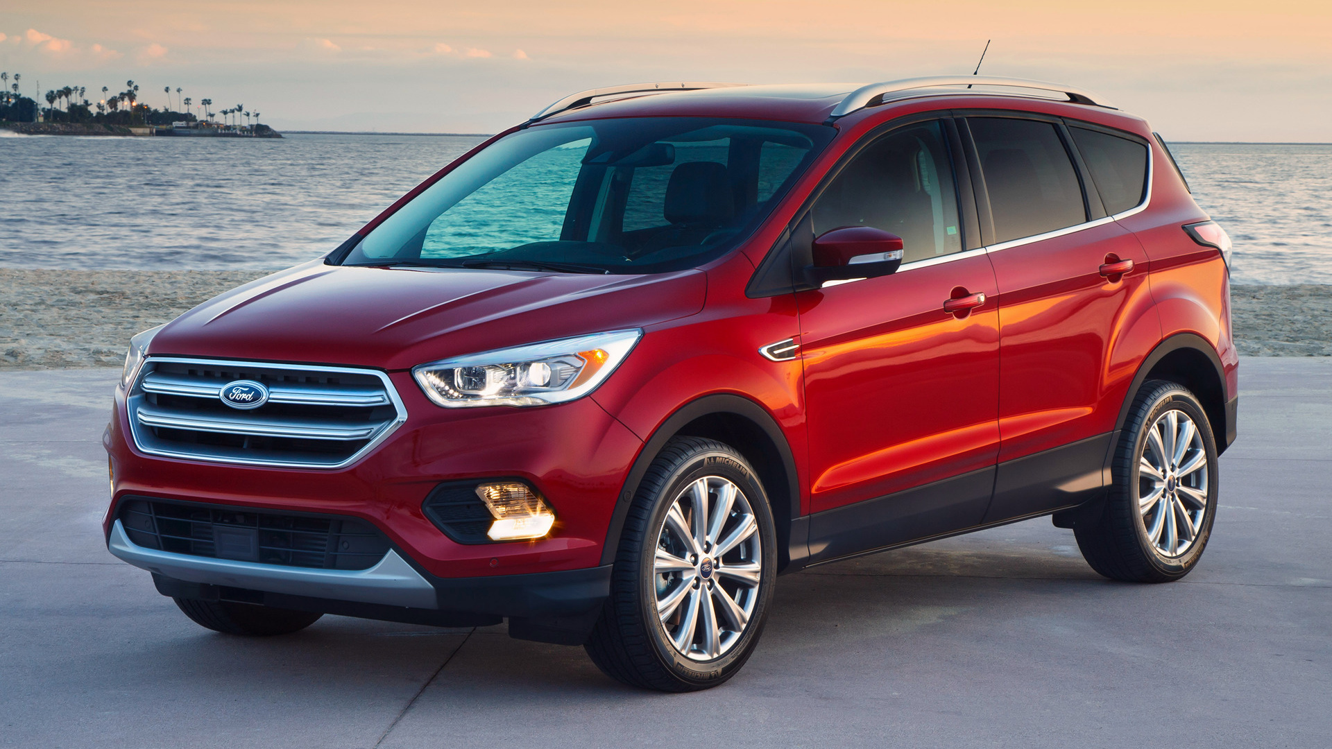 2017 Ford Escape Titanium Wallpapers And Hd Images Car