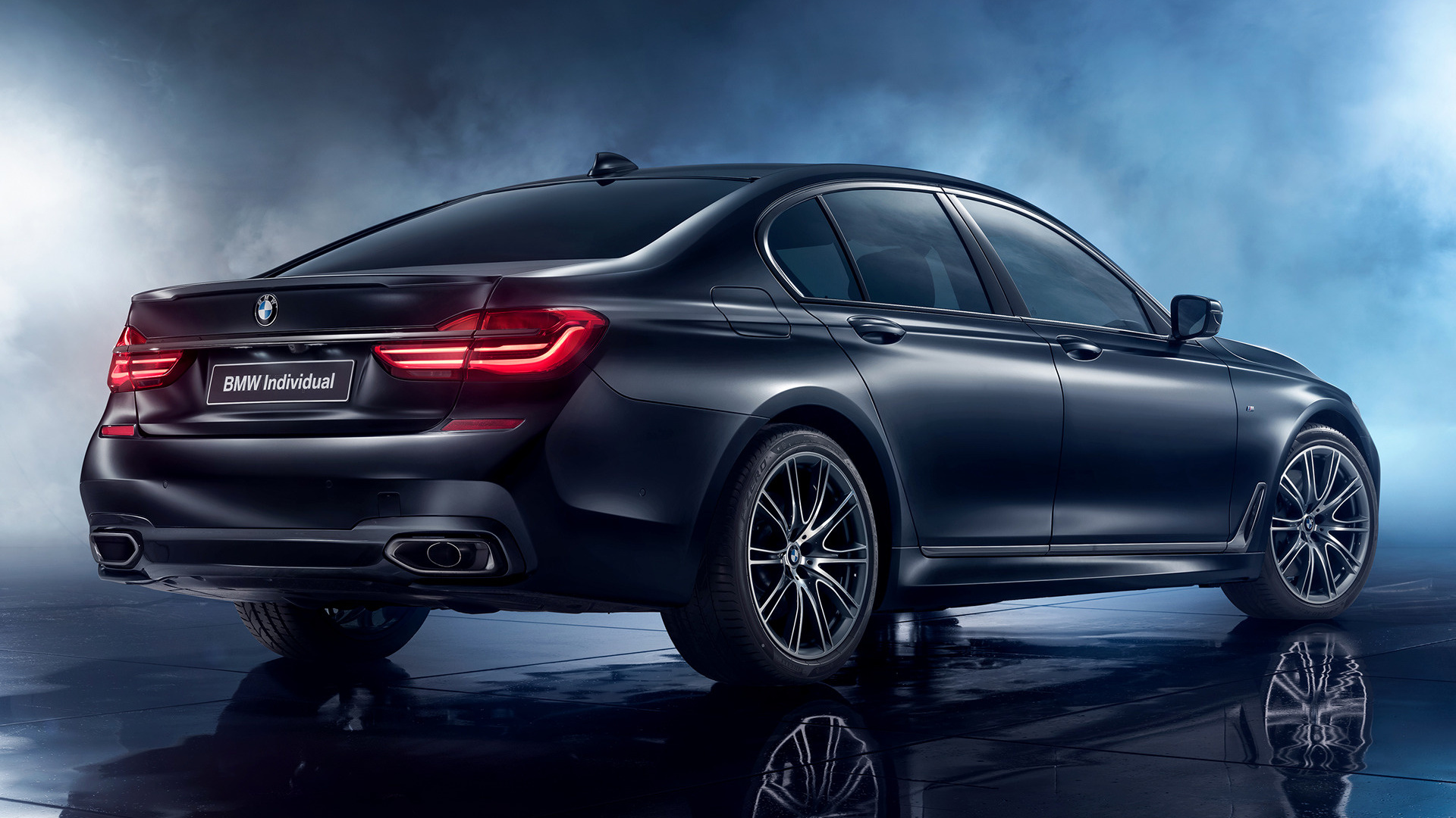 Wallpaper Bmw 7 Series Black Ice Edition 2017 4k