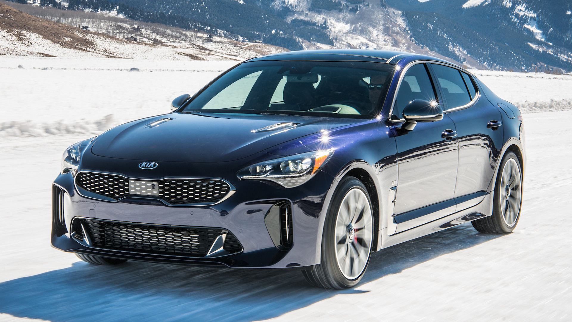 Kia Stinger Gt Atlantica 2018 Us Wallpapers And Hd