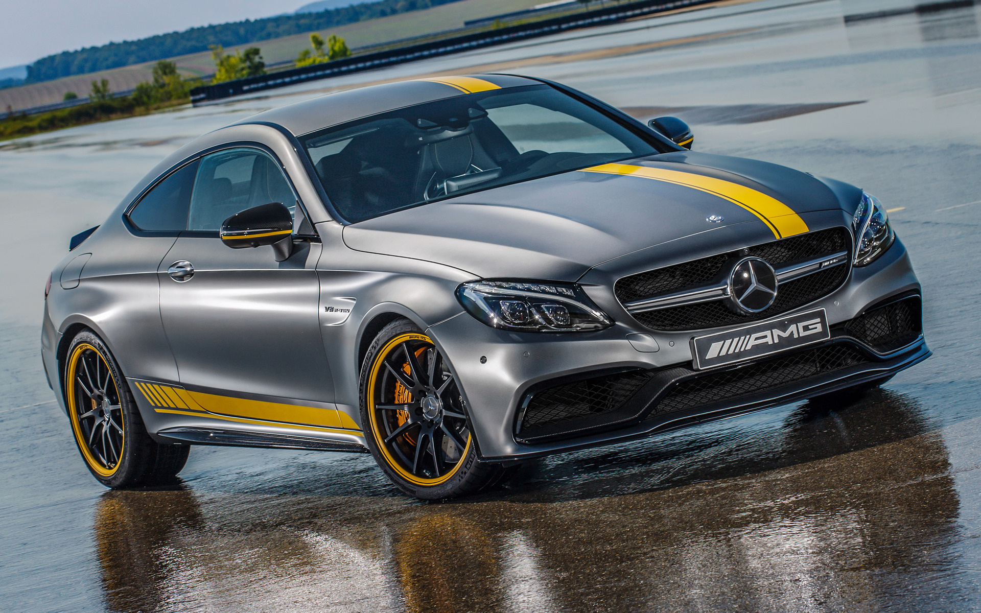 Mercedes amg c 63 s coupe edition 1 2016 wallpapers and hd images - Wallpapers Mercedes Amg C 63 S Coupe Edition 1 2016