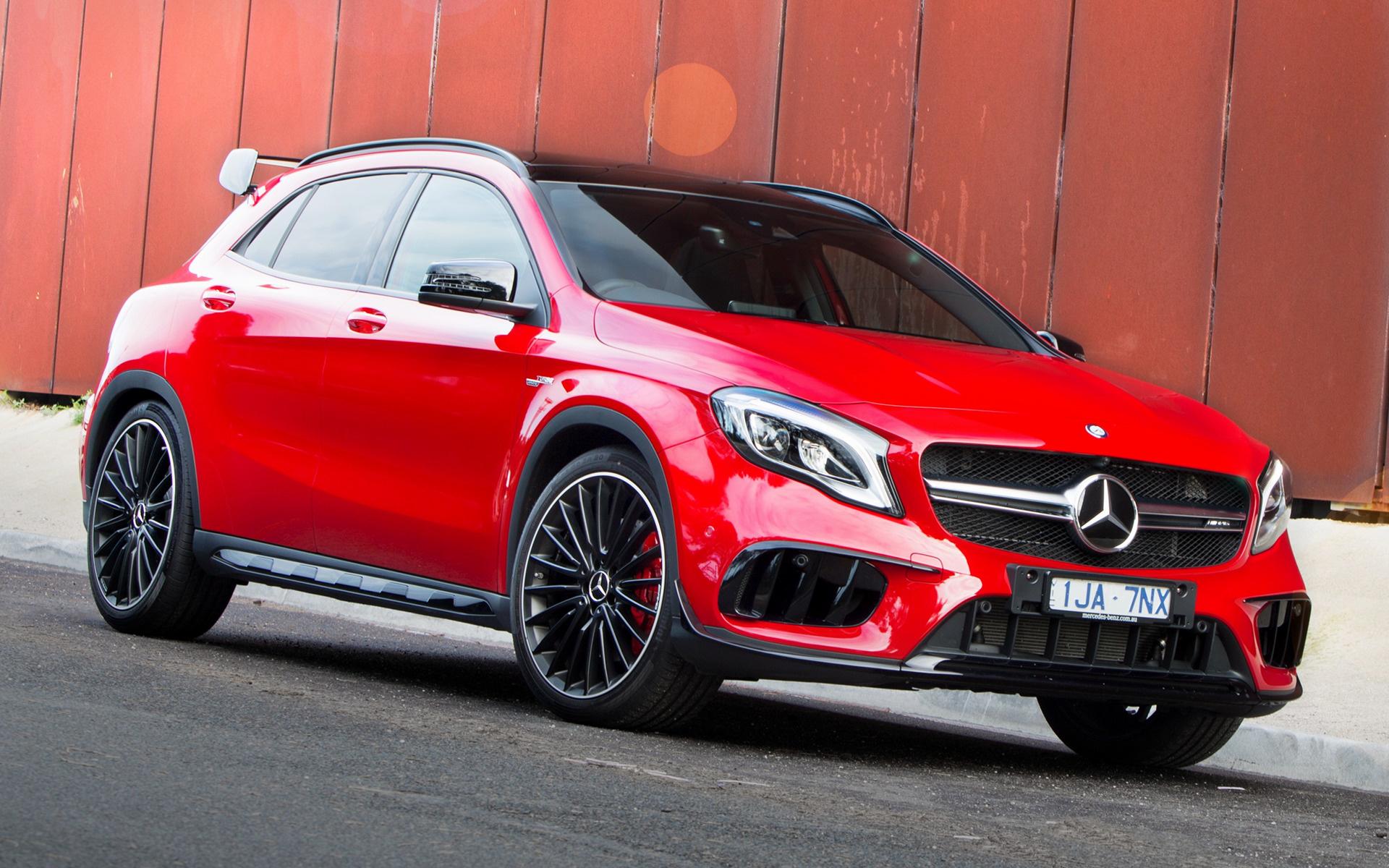 2017 Mercedes-AMG GLA 45 Aerodynamics Package (AU ...
