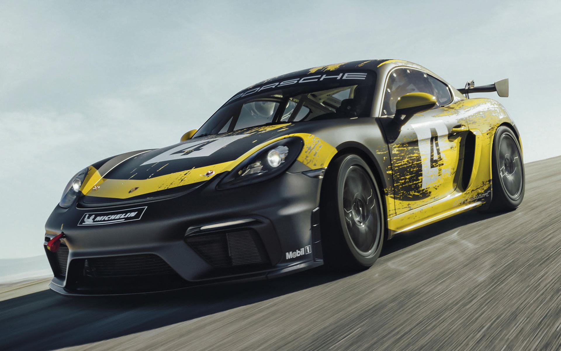 Land Rover Sport >> 2019 Porsche 718 Cayman GT4 Clubsport - Wallpapers and HD Images | Car Pixel