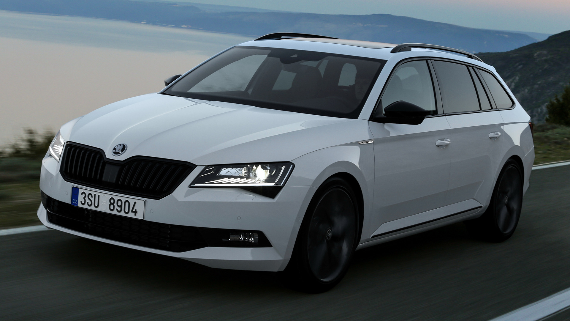 skoda superb combi sportline 2015 wallpapers and hd images car pixel. Black Bedroom Furniture Sets. Home Design Ideas