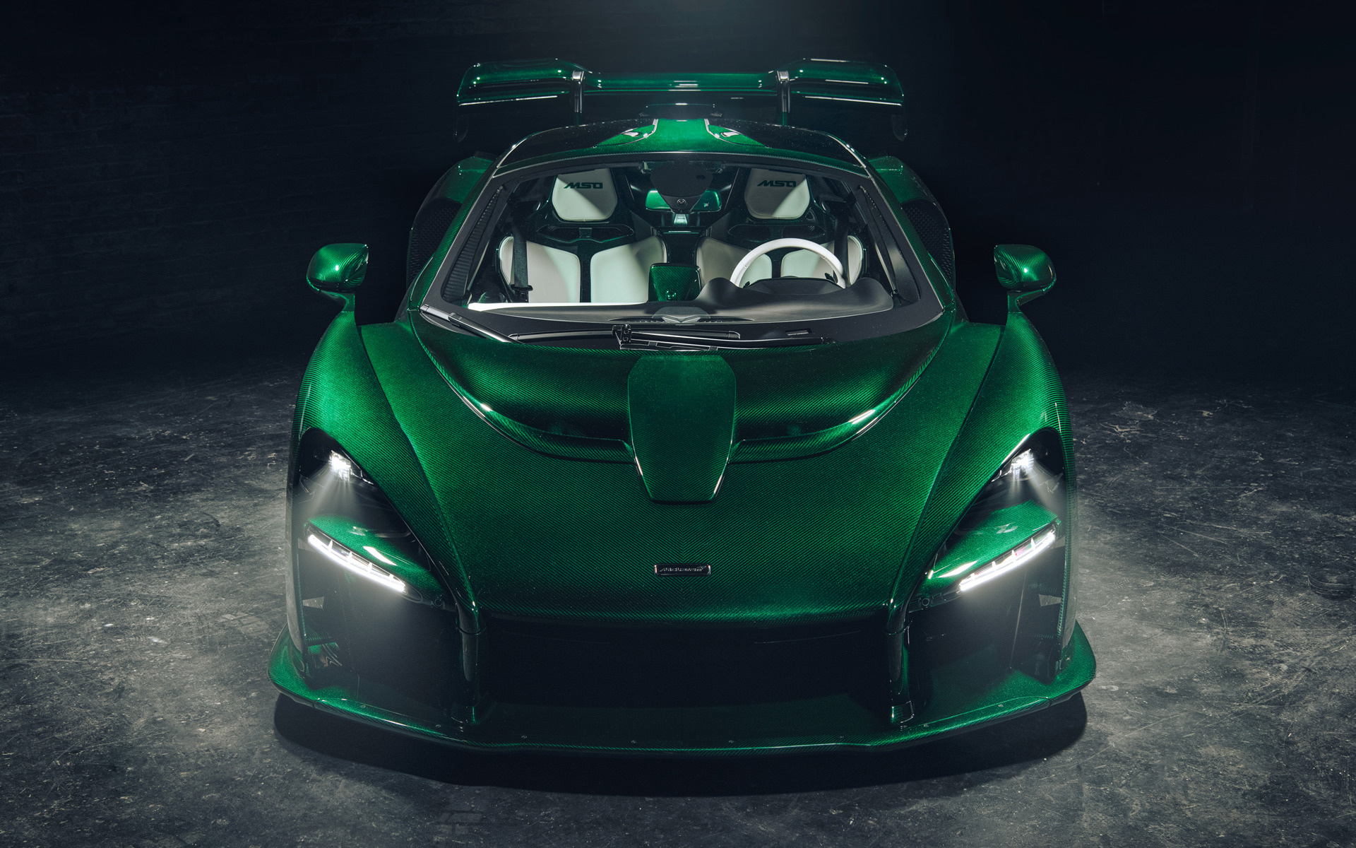 2018 McLaren Senna Fux Green by MSO (US) - Wallpapers and ...