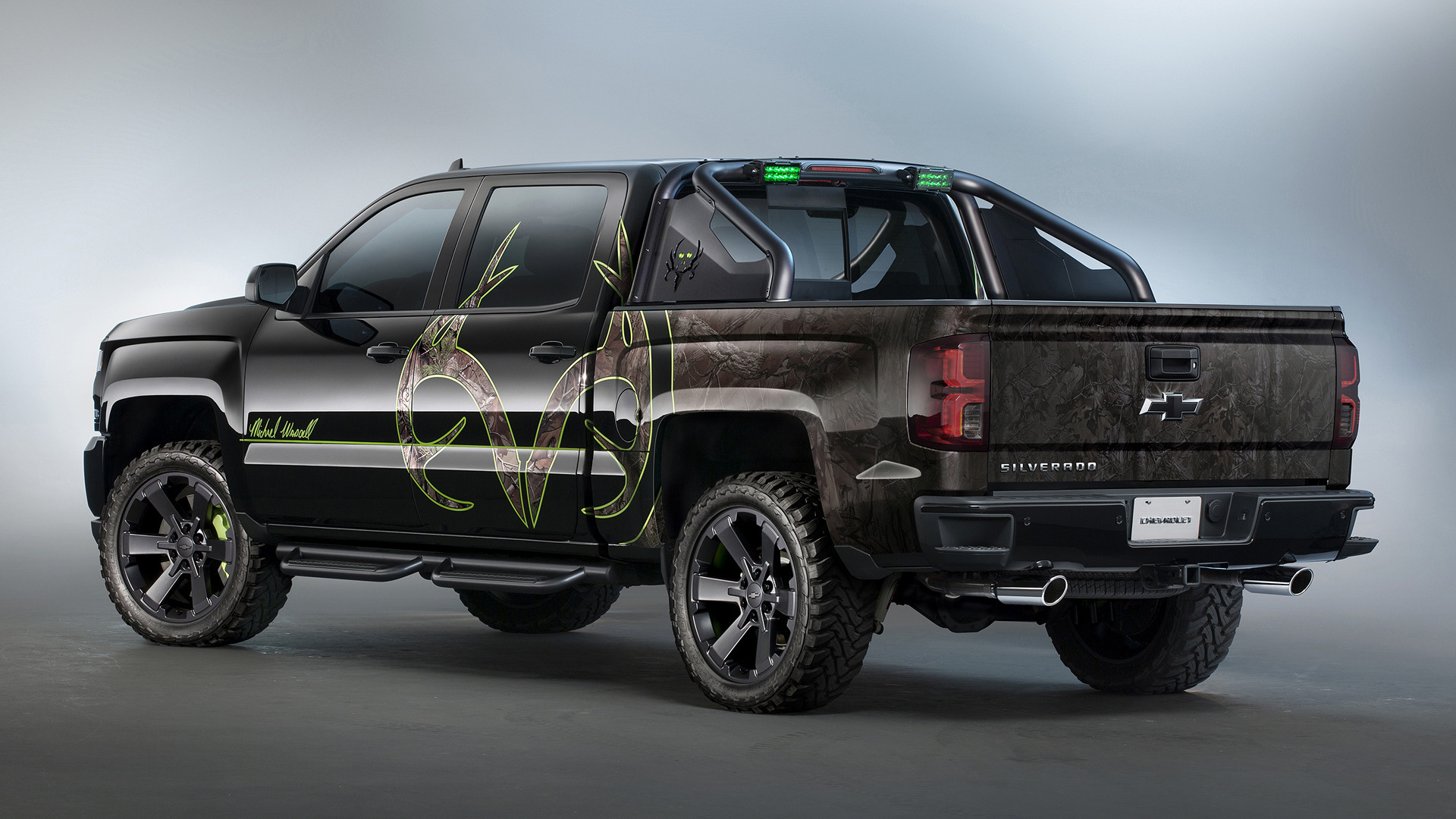 Chevrolet silverado realtree bone collector 2015 wallpapers and hd images car pixel