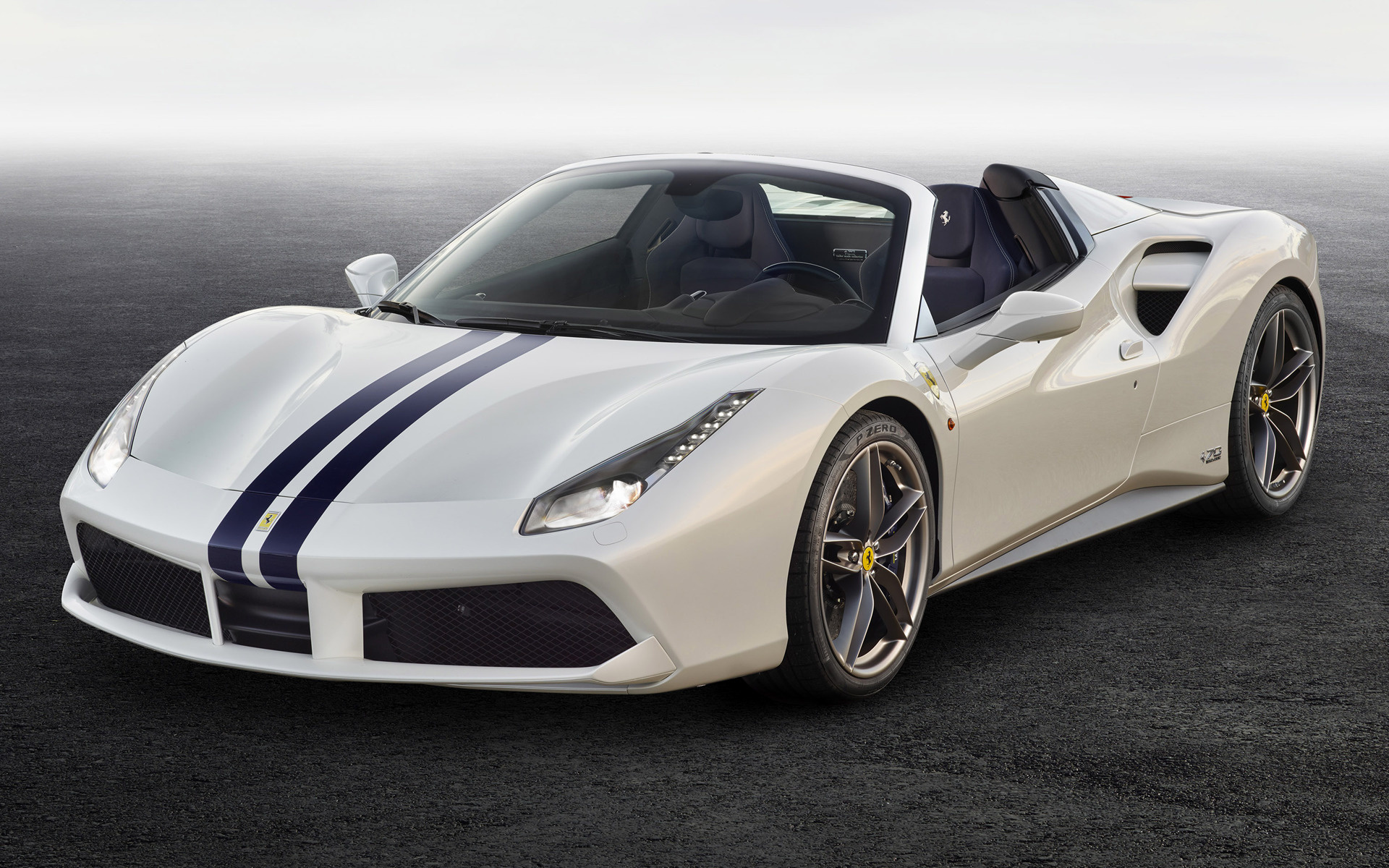 Ferrari 488 Spider The White Spider (2017) Wallpapers and ...