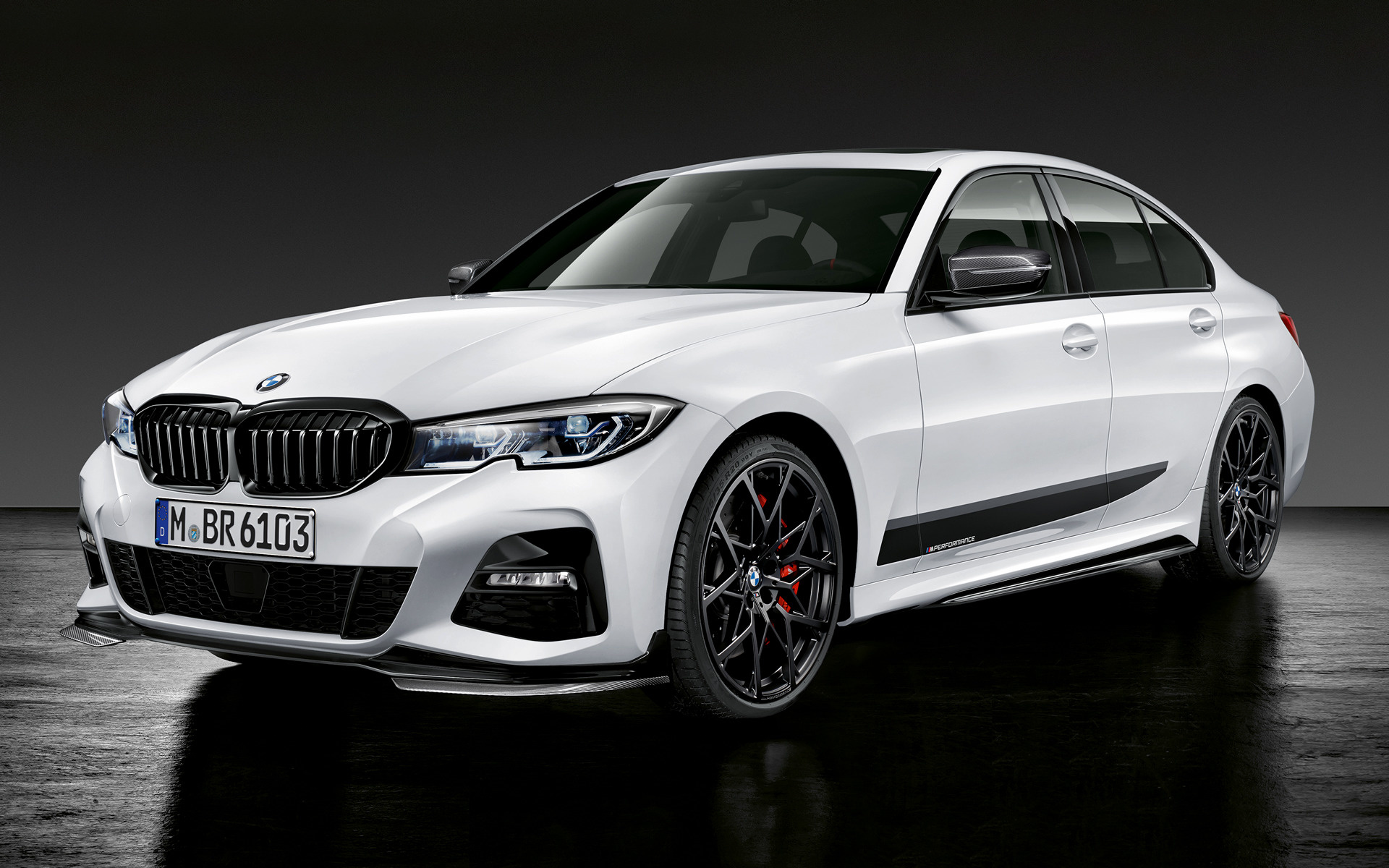 2019 BMW 3 Series with M Performance Parts - Wallpapers ...